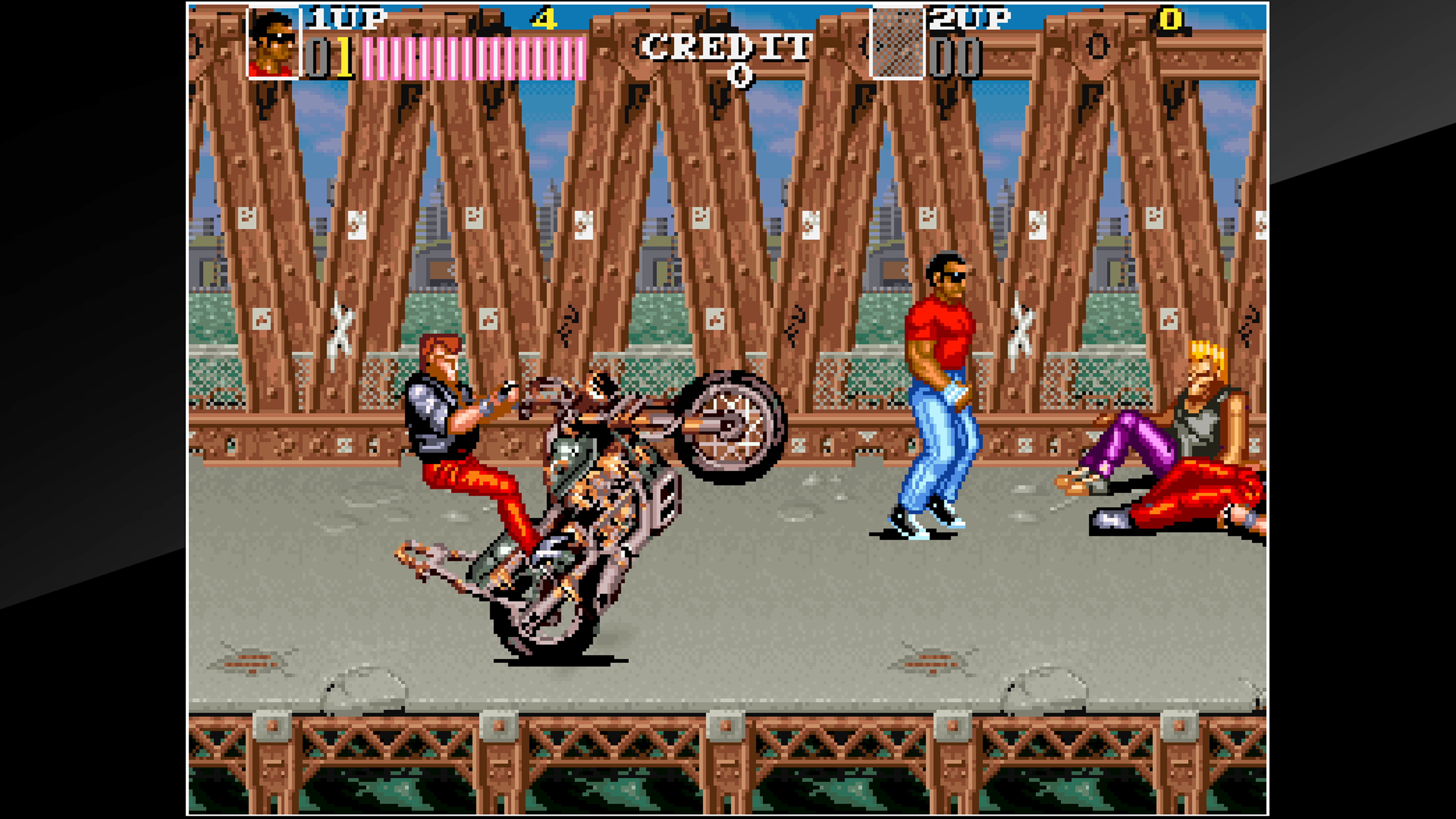 Скриншот №1 к Arcade Archives VENDETTA