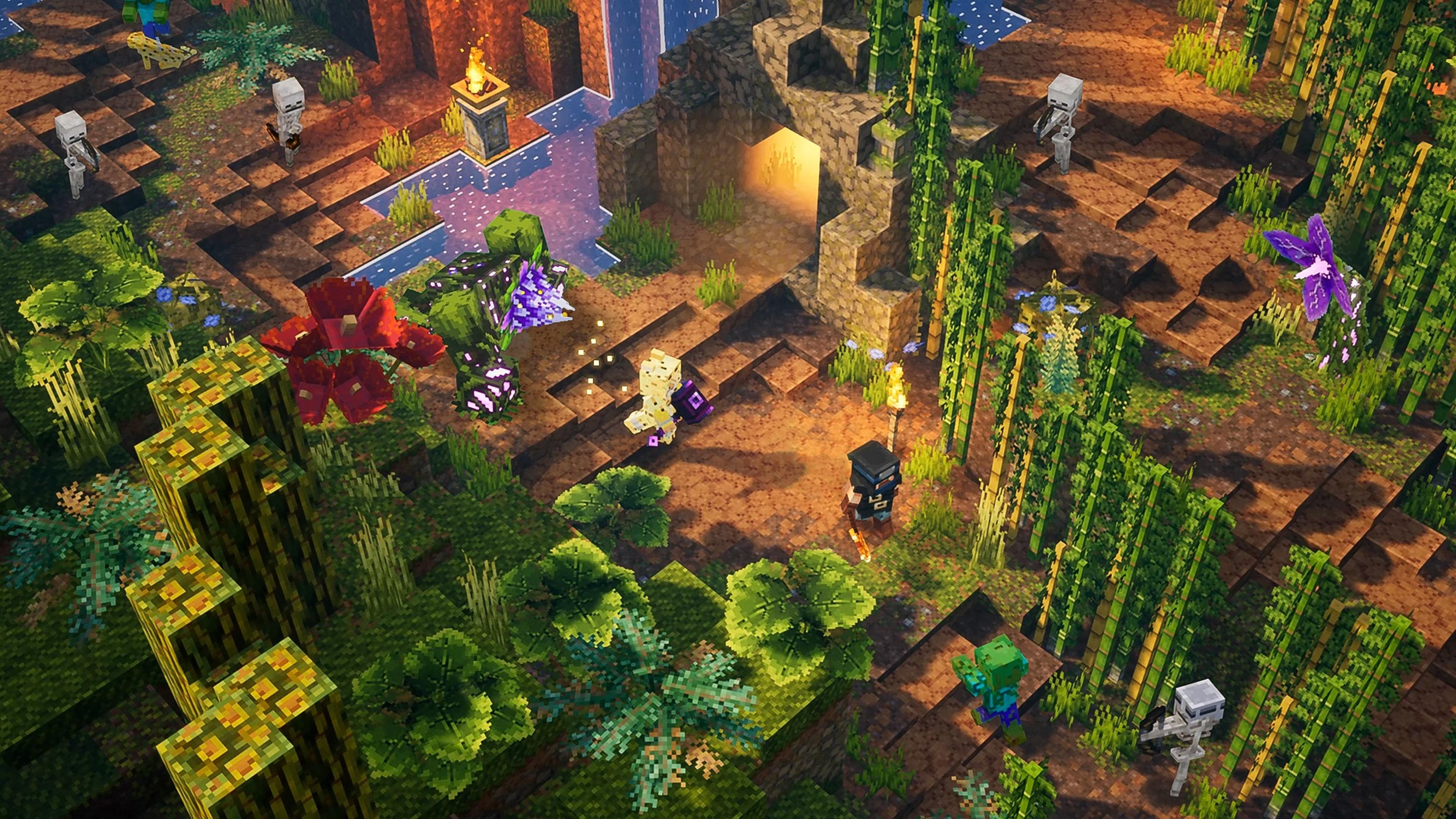 Скриншот №6 к Minecraft Dungeons максимальный выпуск