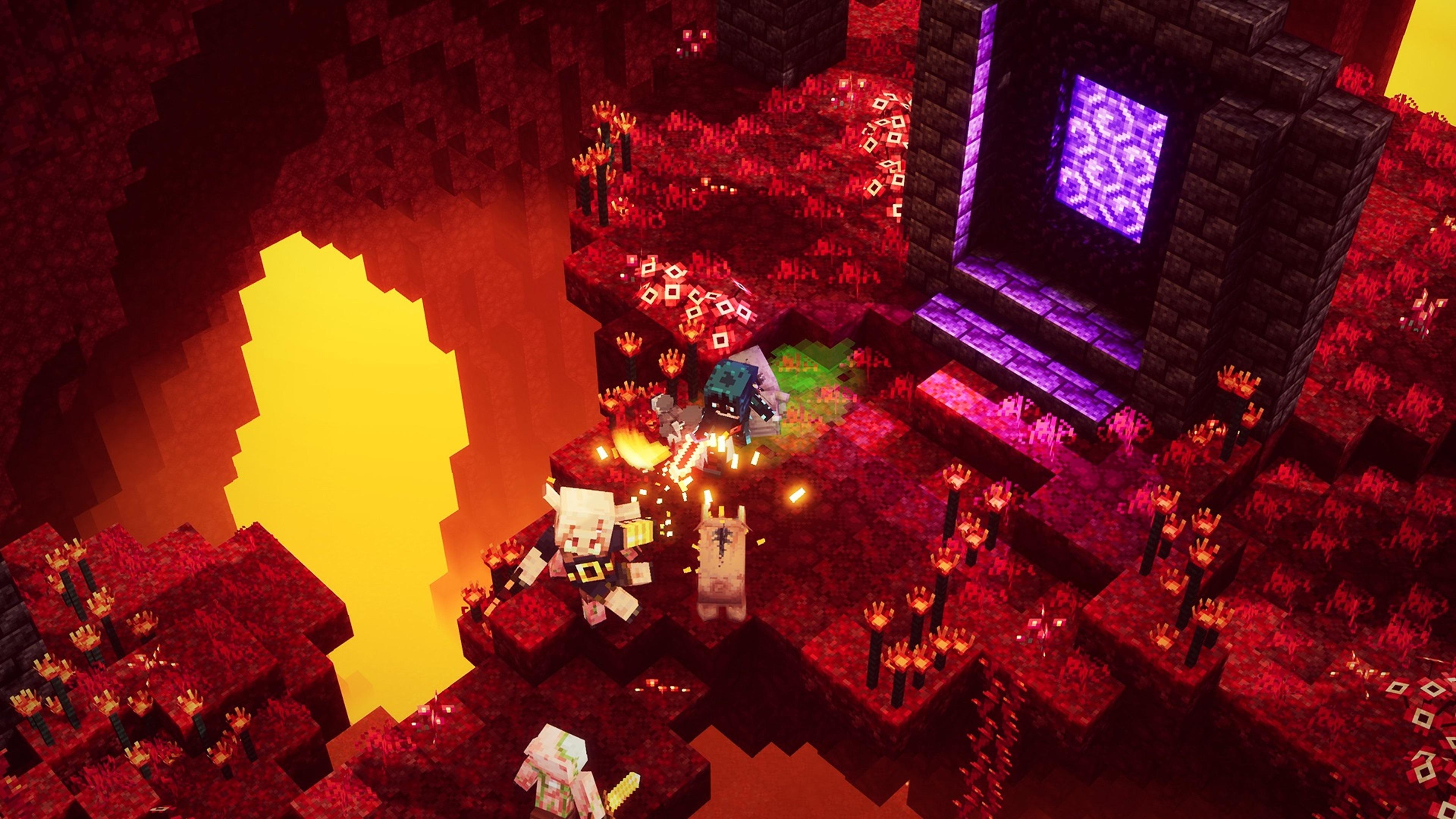 Скриншот №4 к Minecraft Dungeons максимальный выпуск