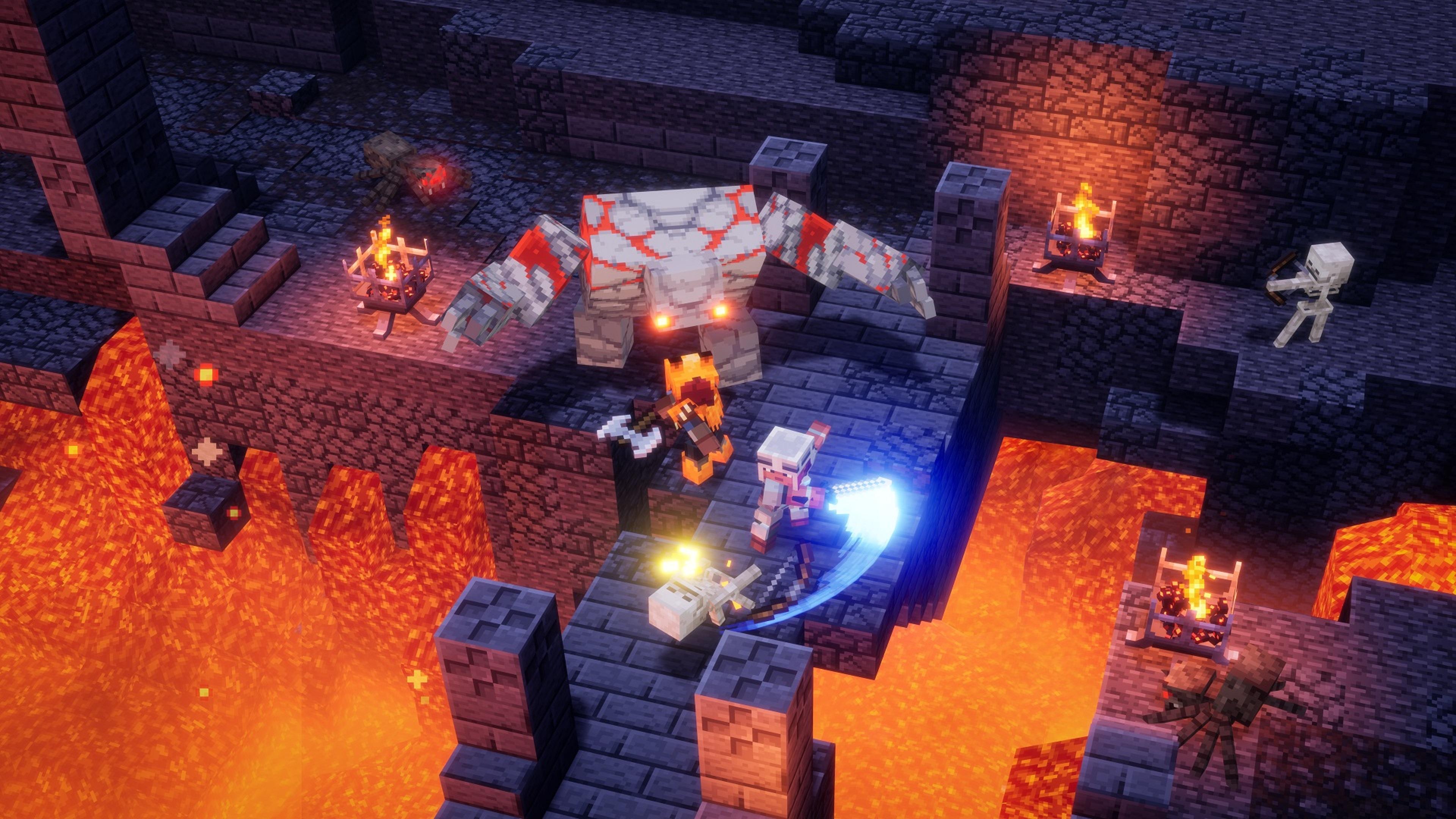 Скриншот №3 к Minecraft Dungeons максимальный выпуск