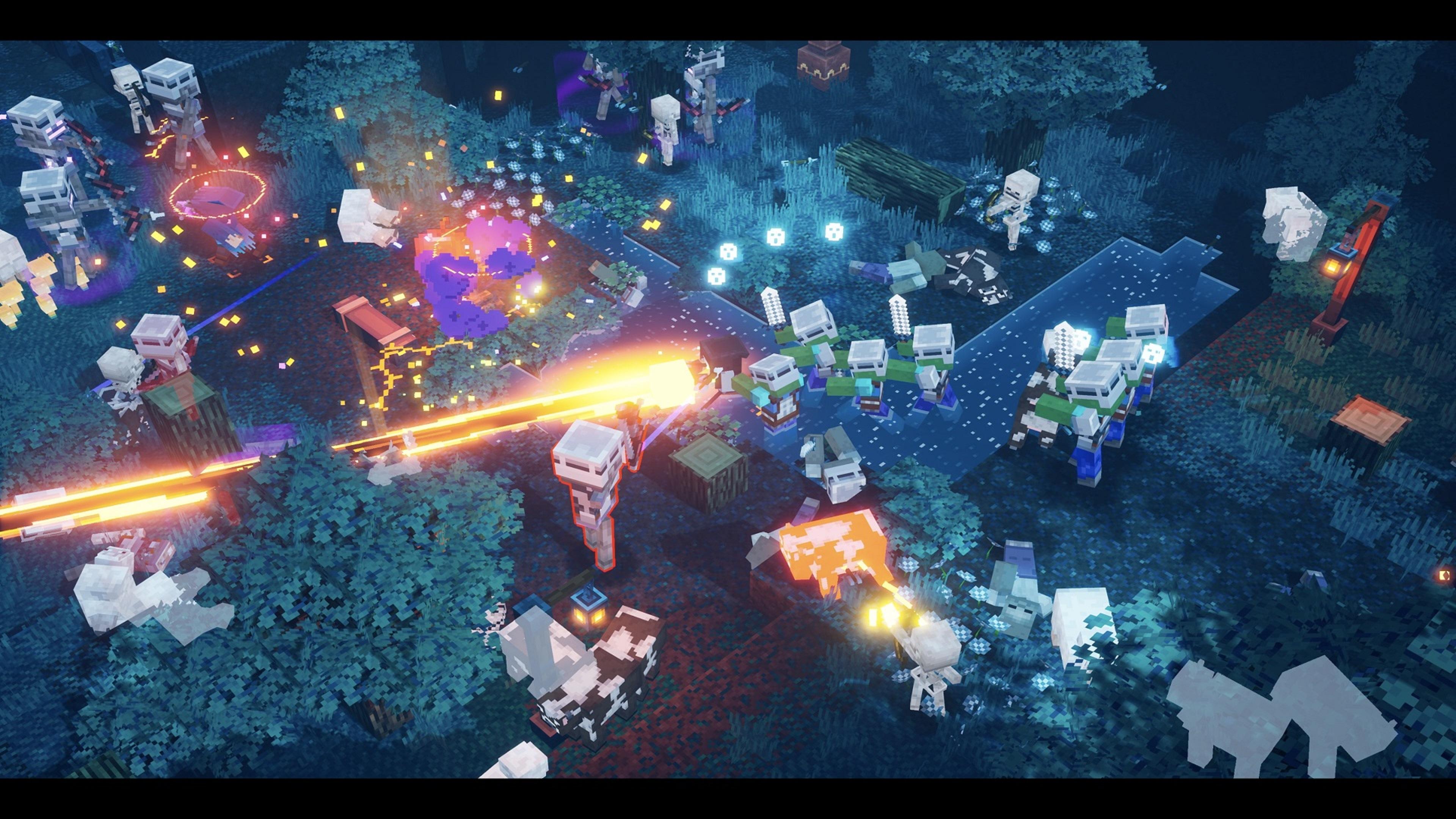 Скриншот №1 к Minecraft Dungeons максимальный выпуск