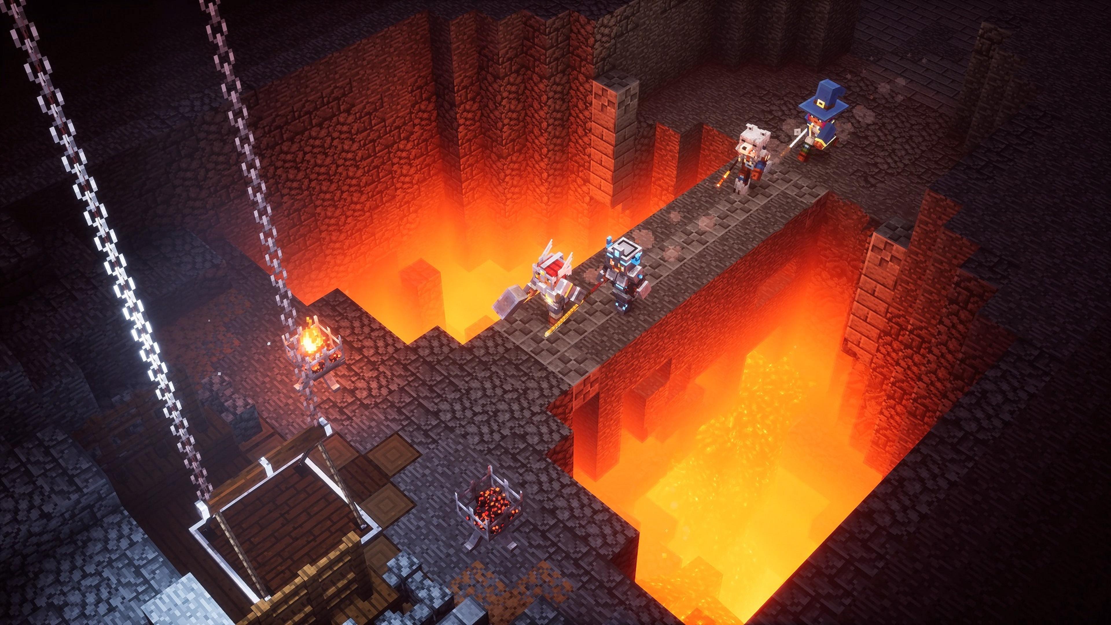 Скриншот №8 к Minecraft Dungeons максимальный выпуск