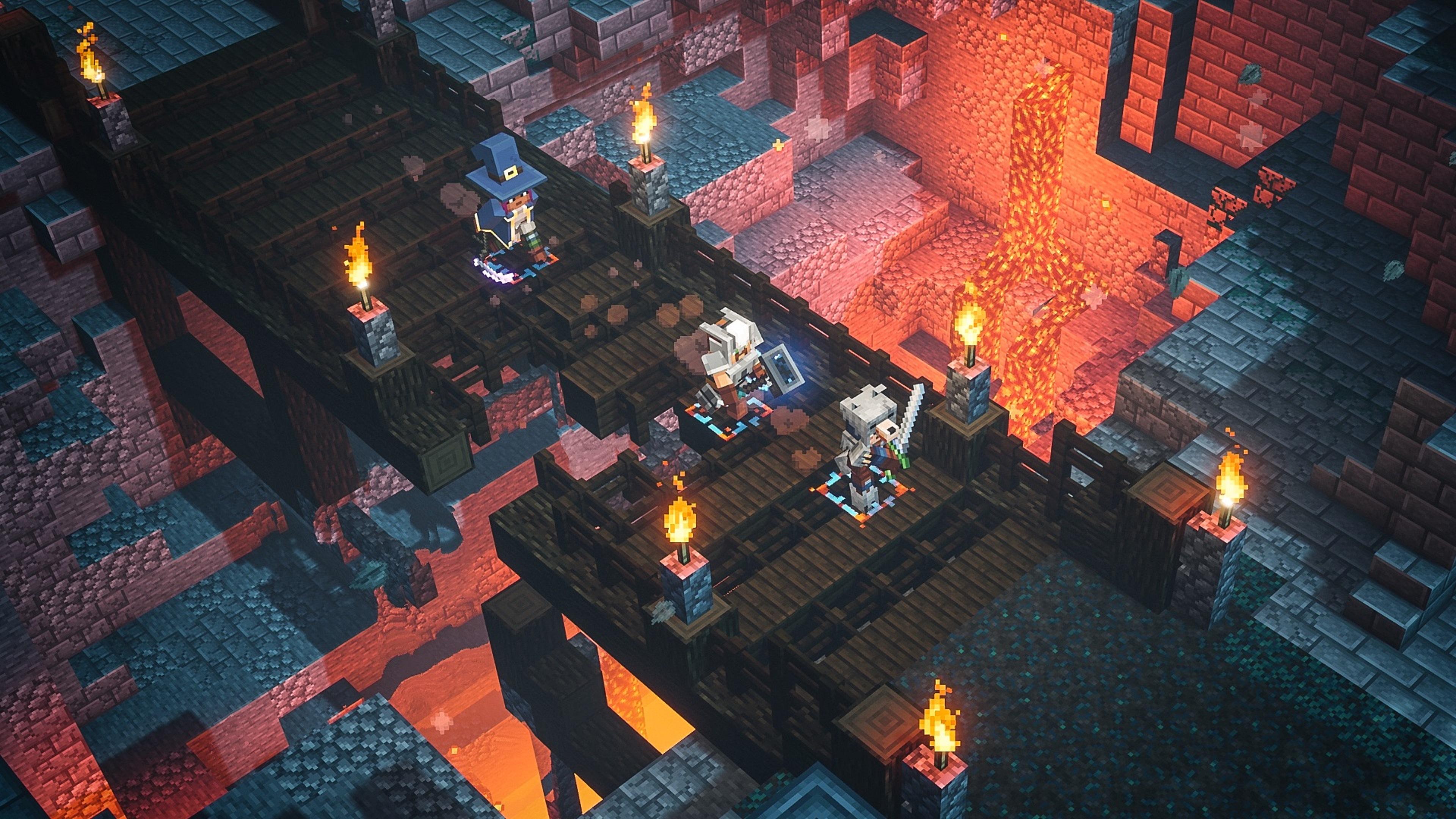 Скриншот №2 к Minecraft Dungeons максимальный выпуск