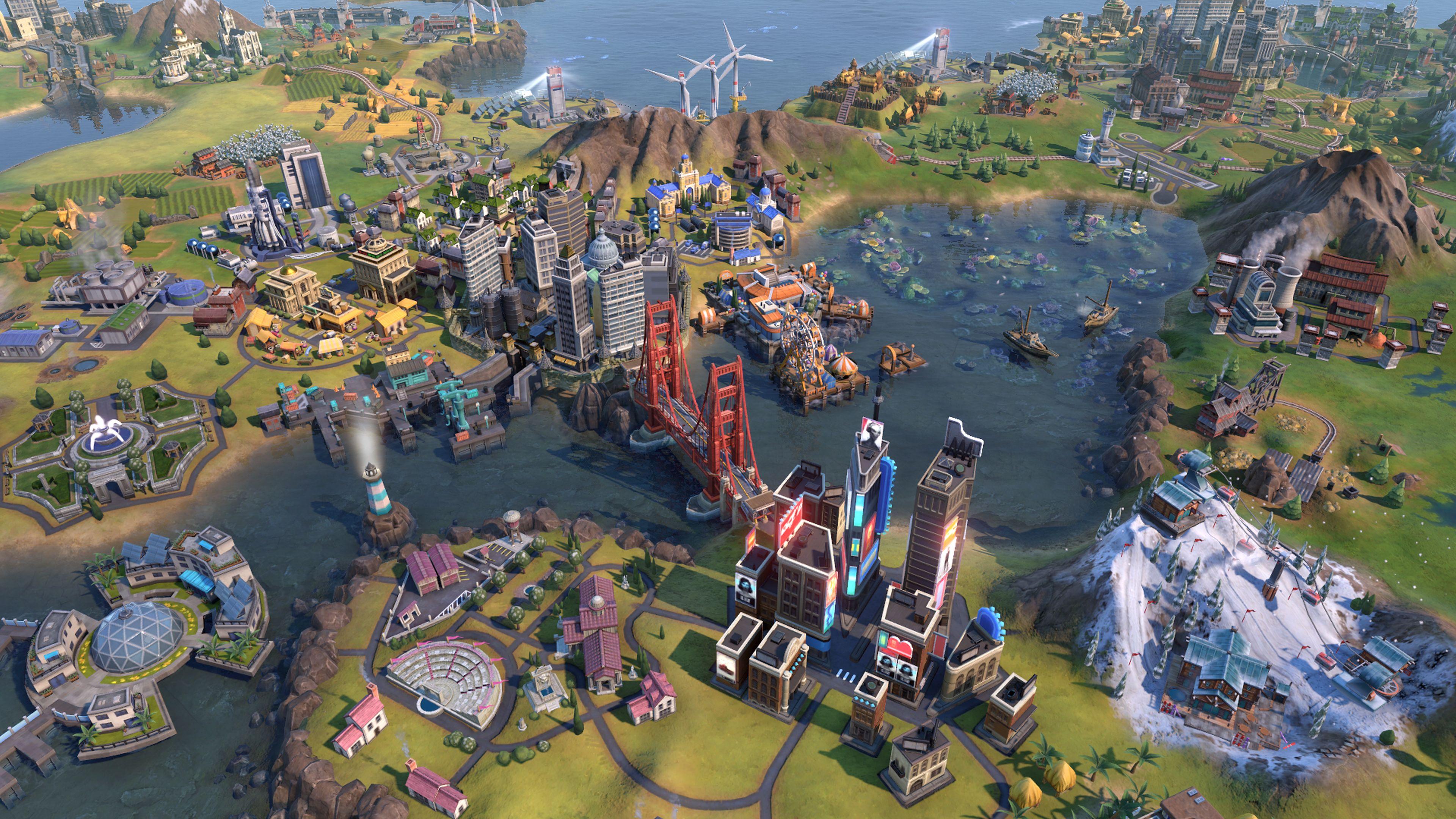 Скриншот №2 к Sid Meiers Civilization VI Platinum Edition
