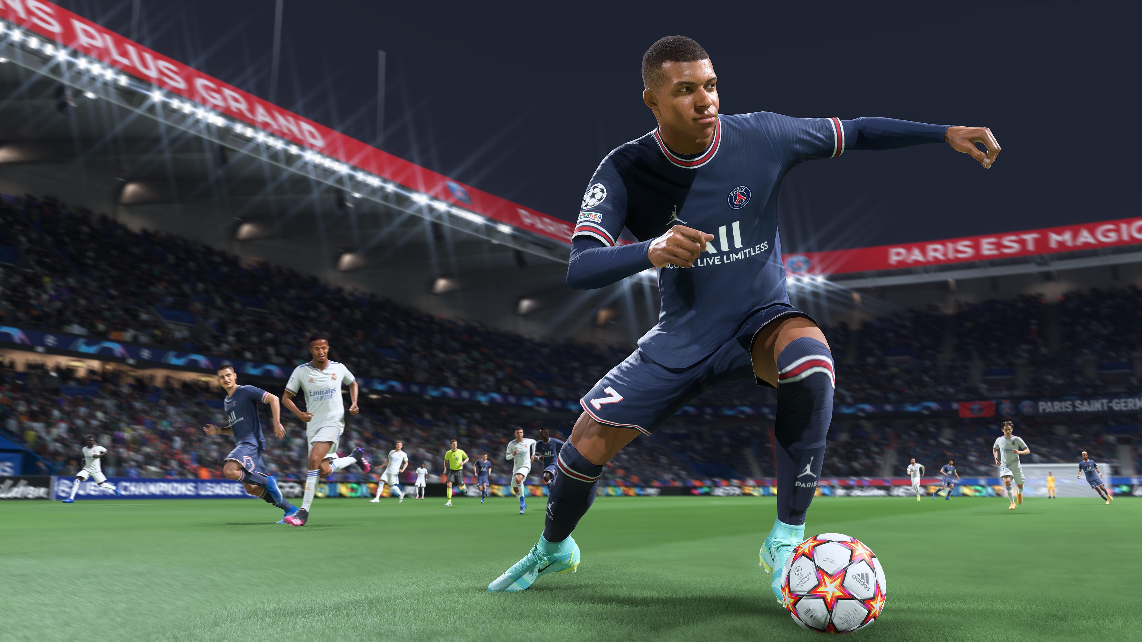 Скриншот №1 к FIFA 22 PS5