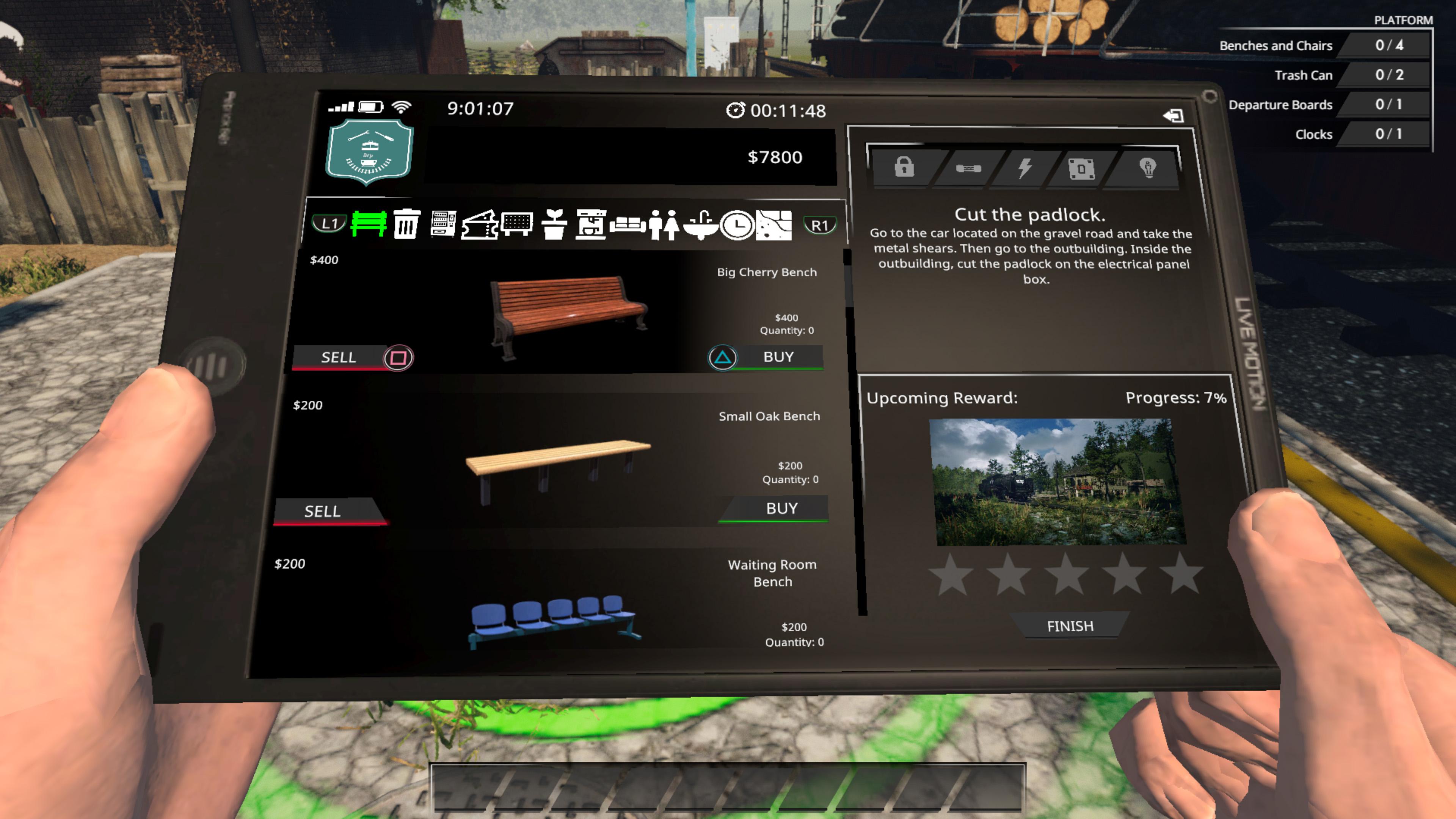Скриншот №7 к Train Station Renovation