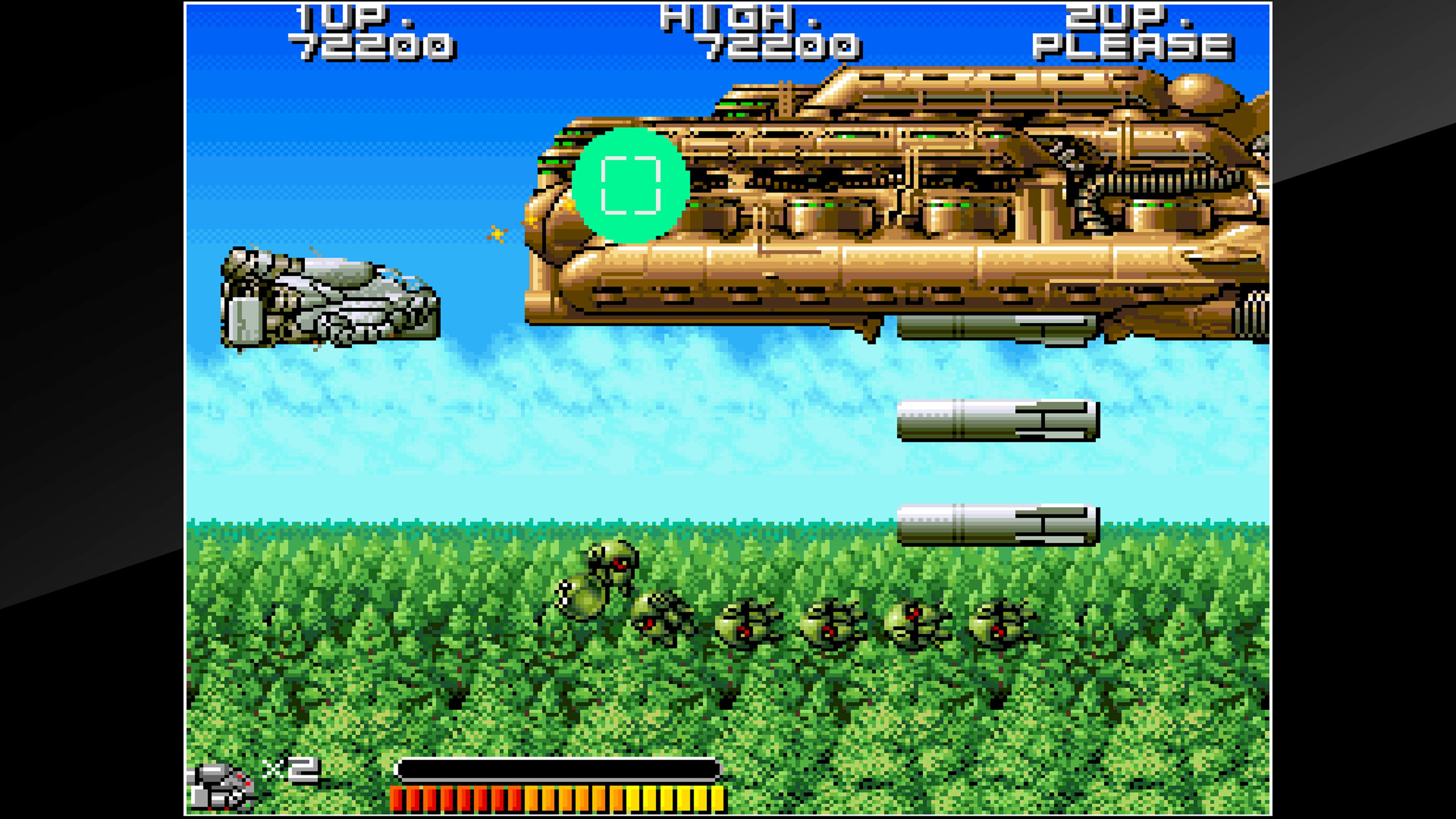 Скриншот №5 к Arcade Archives BIO-SHIP PALADIN
