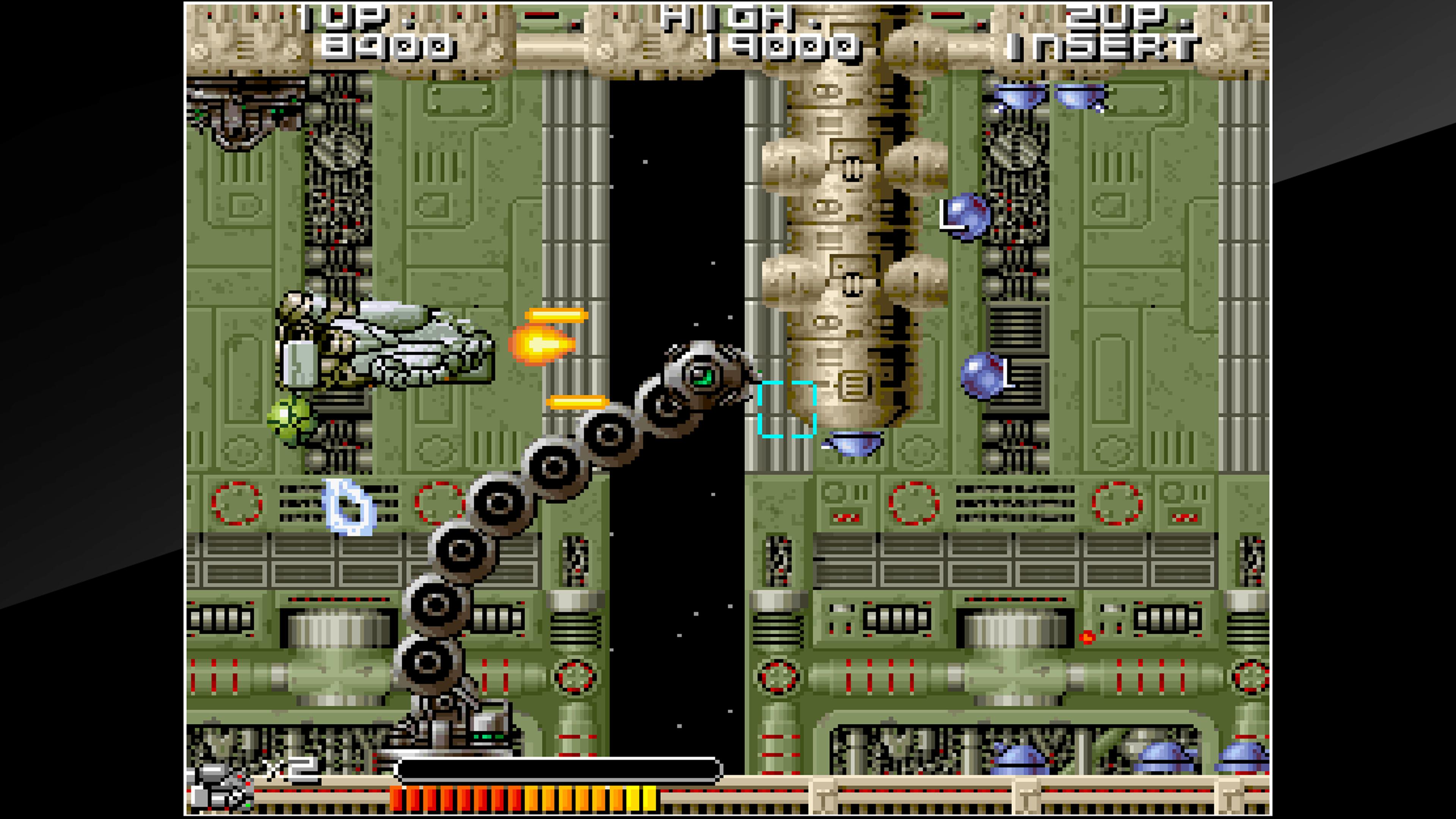 Скриншот №4 к Arcade Archives BIO-SHIP PALADIN