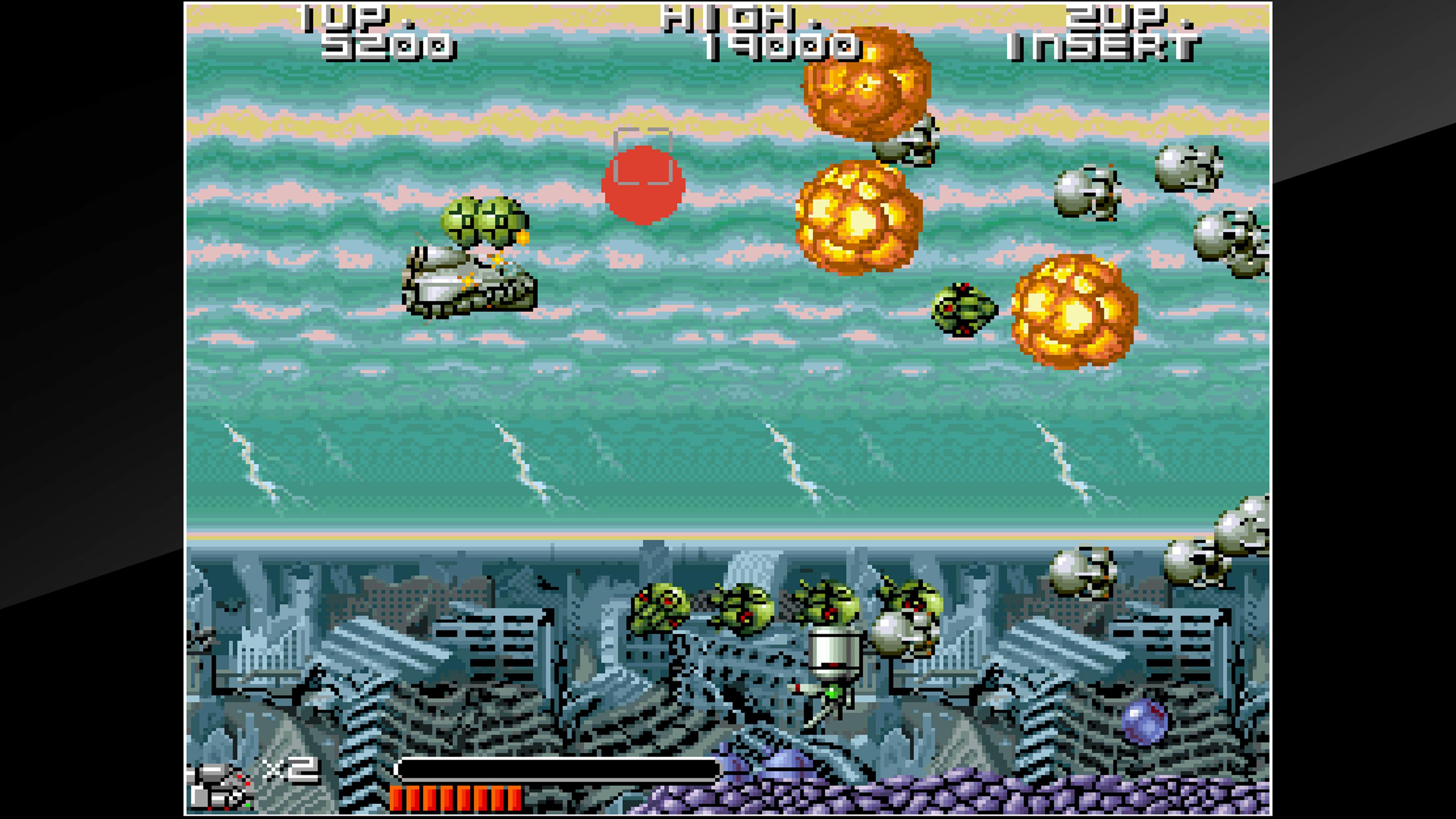 Скриншот №1 к Arcade Archives BIO-SHIP PALADIN