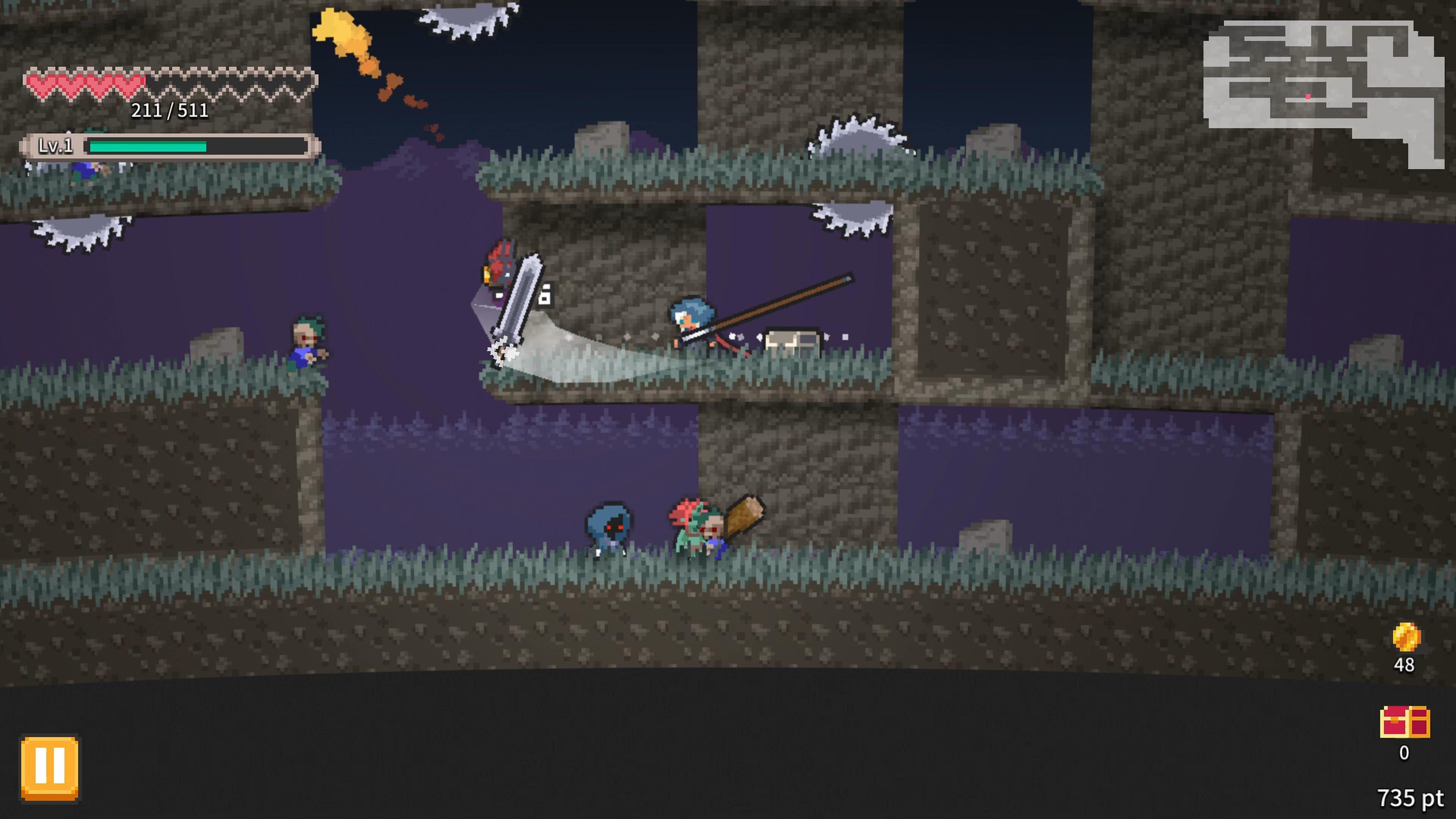 Скриншот №8 к Rogue Explorer PS4 and PS5