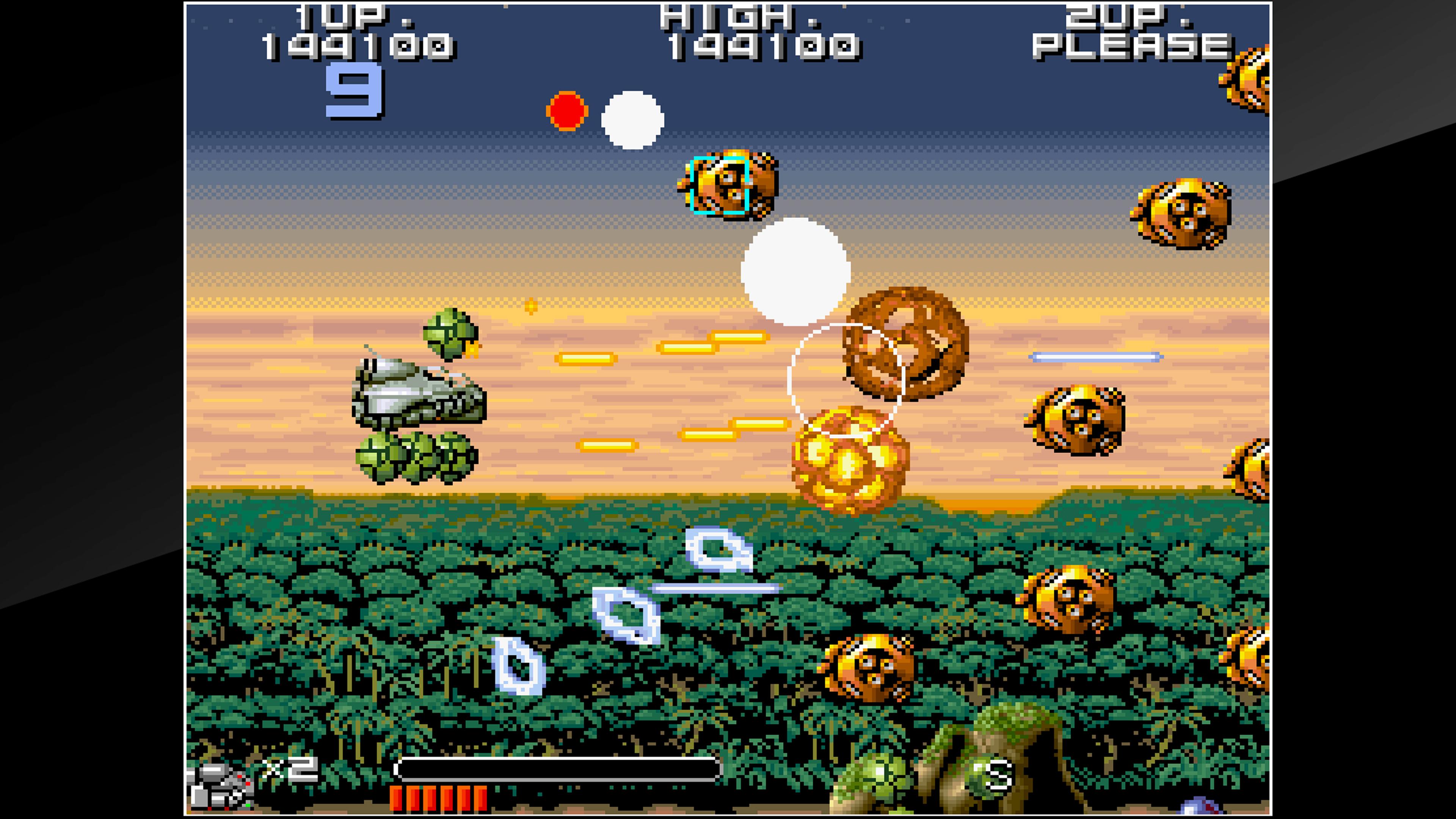 Скриншот №2 к Arcade Archives BIO-SHIP PALADIN