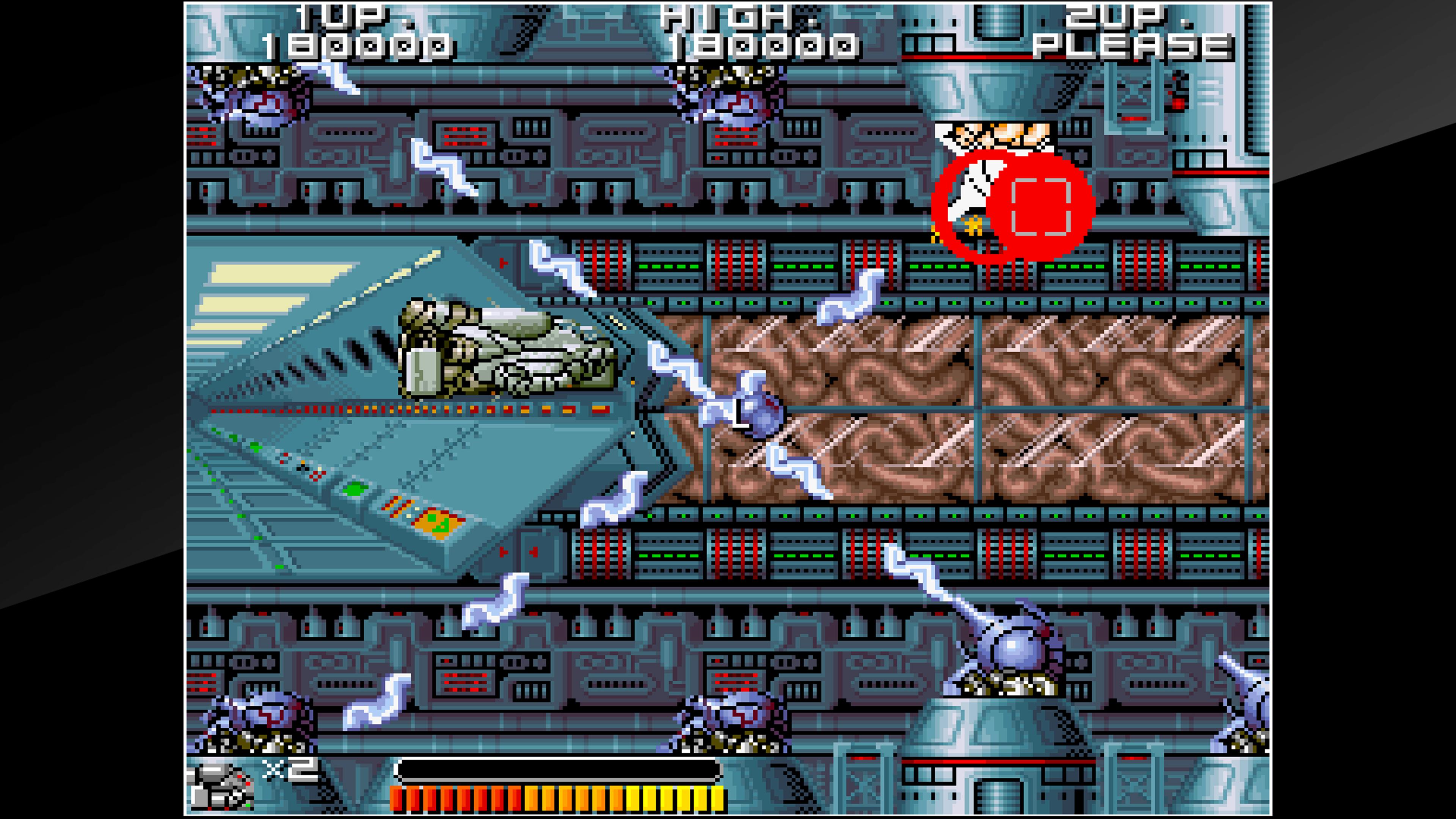 Скриншот №9 к Arcade Archives BIO-SHIP PALADIN