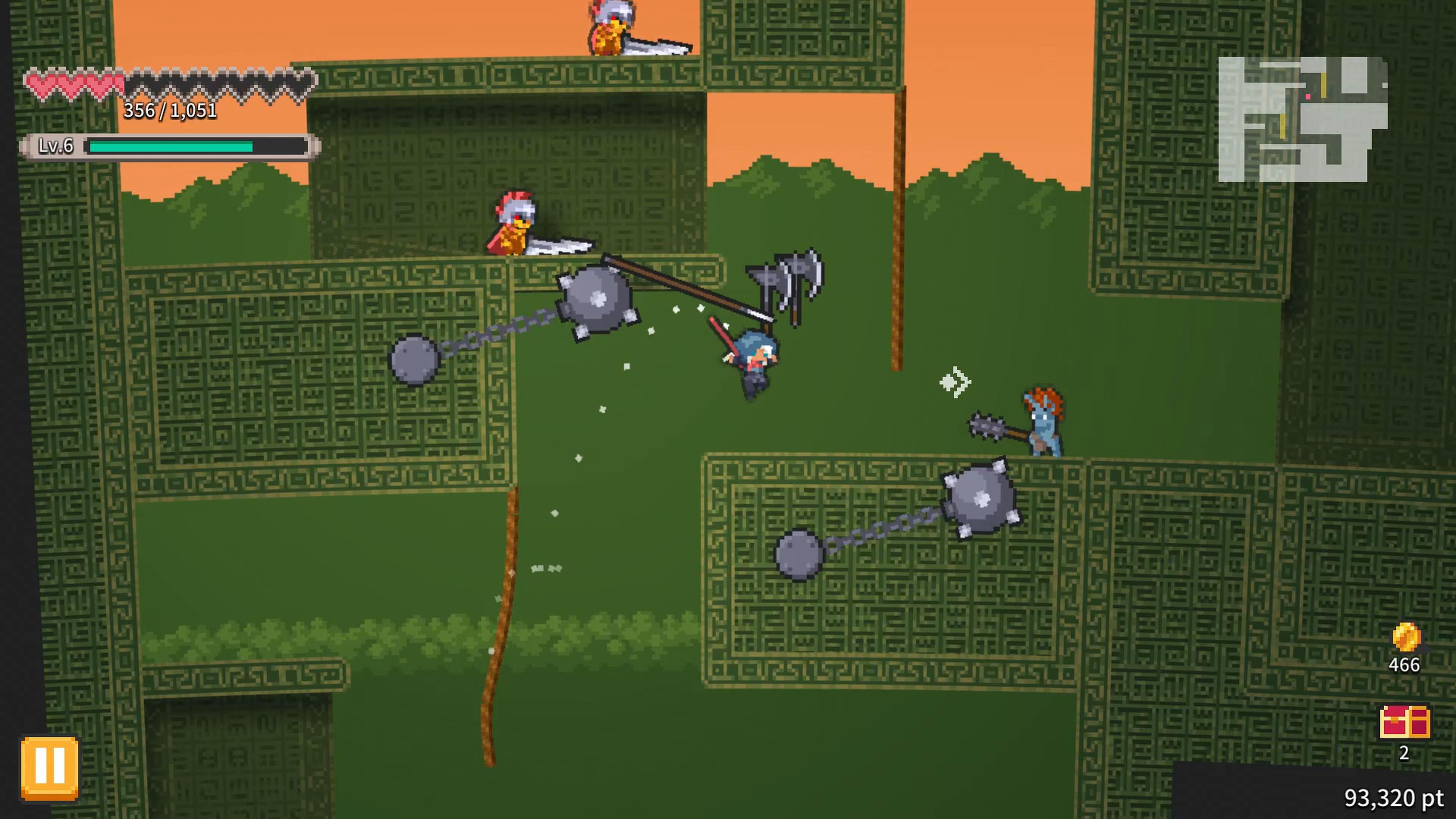 Скриншот №1 к Rogue Explorer PS4 and PS5