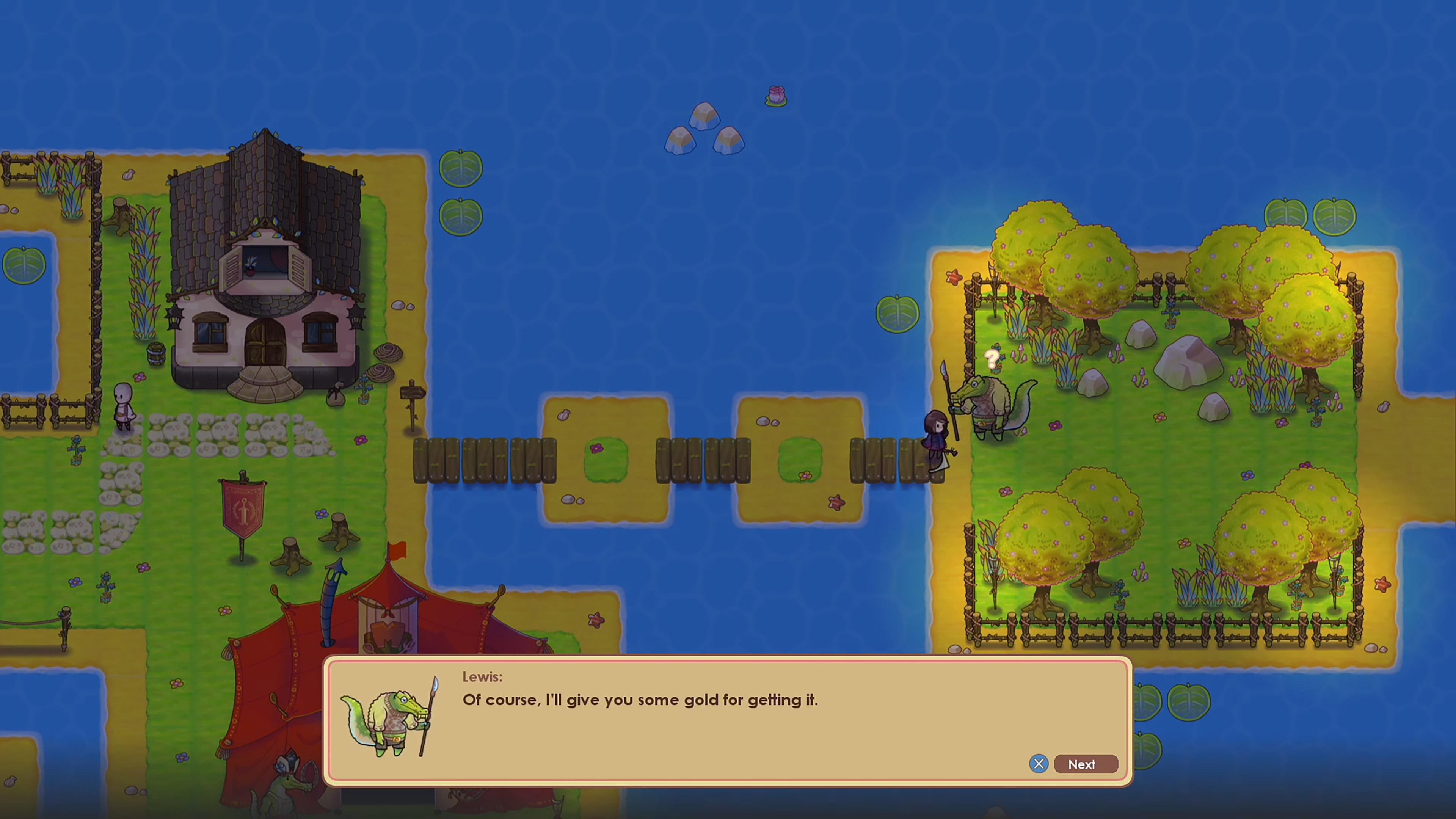 Скриншот №1 к WeakWood Throne