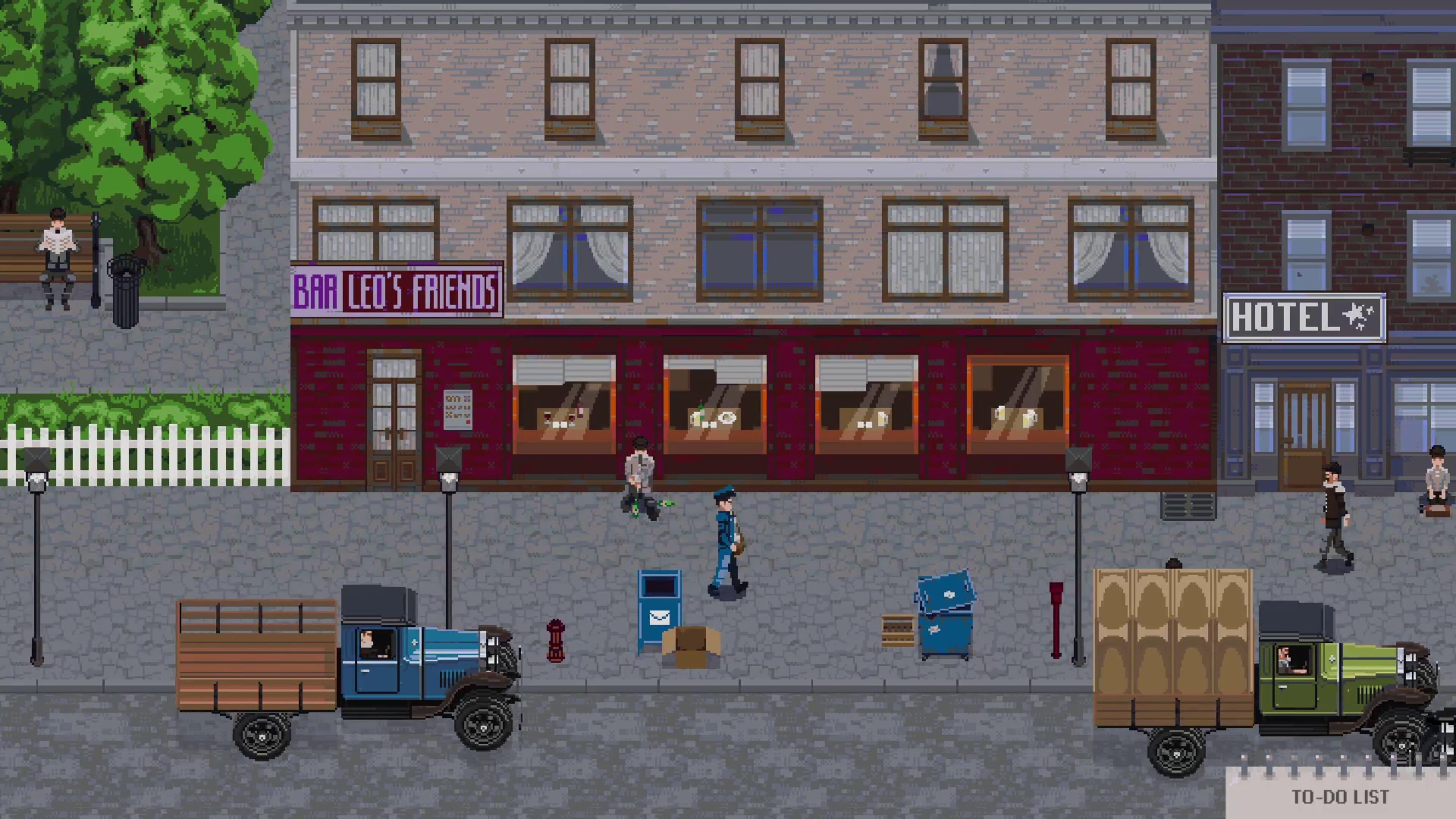 Скриншот №1 к Whiskey Mafia Franks Story