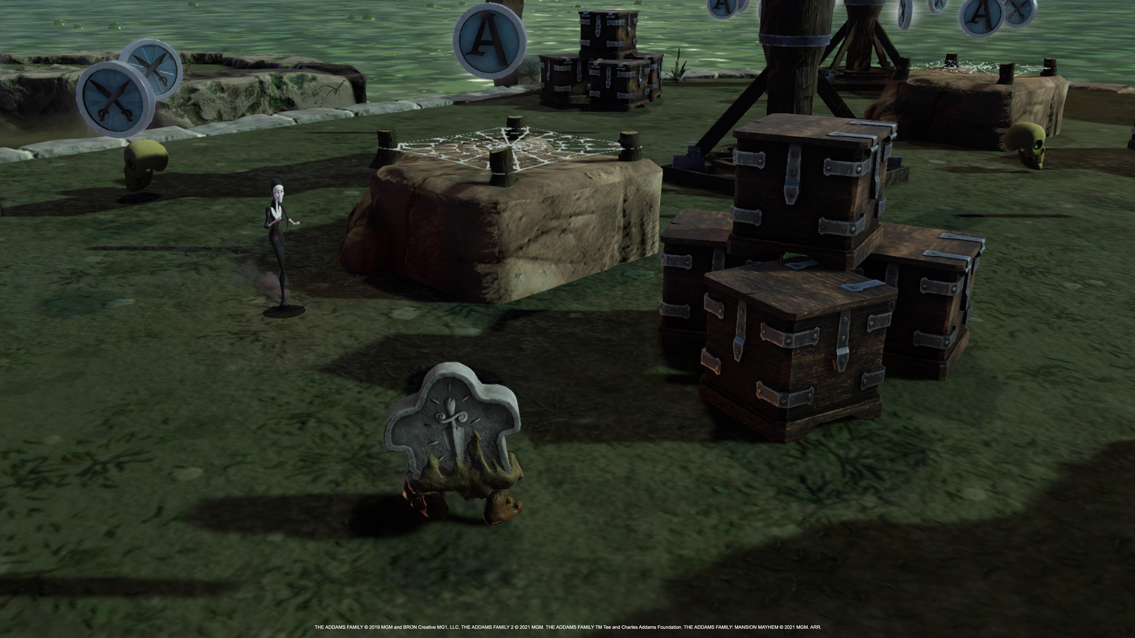 Скриншот №2 к Семейка Аддамс Переполох в особняке