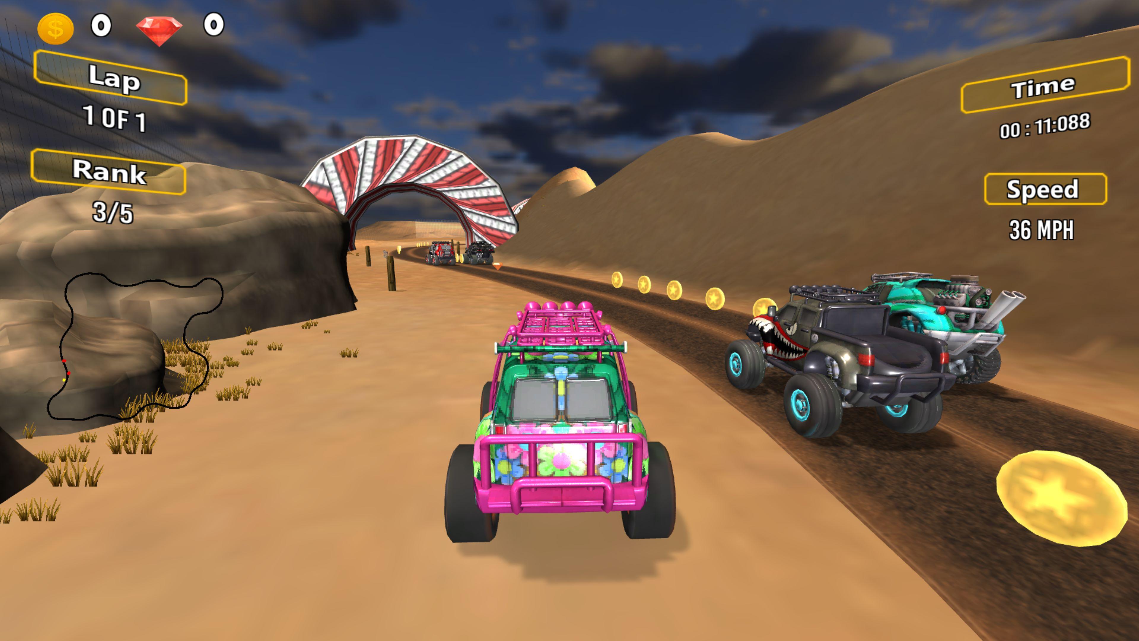 Скриншот №8 к Racing Game Pack