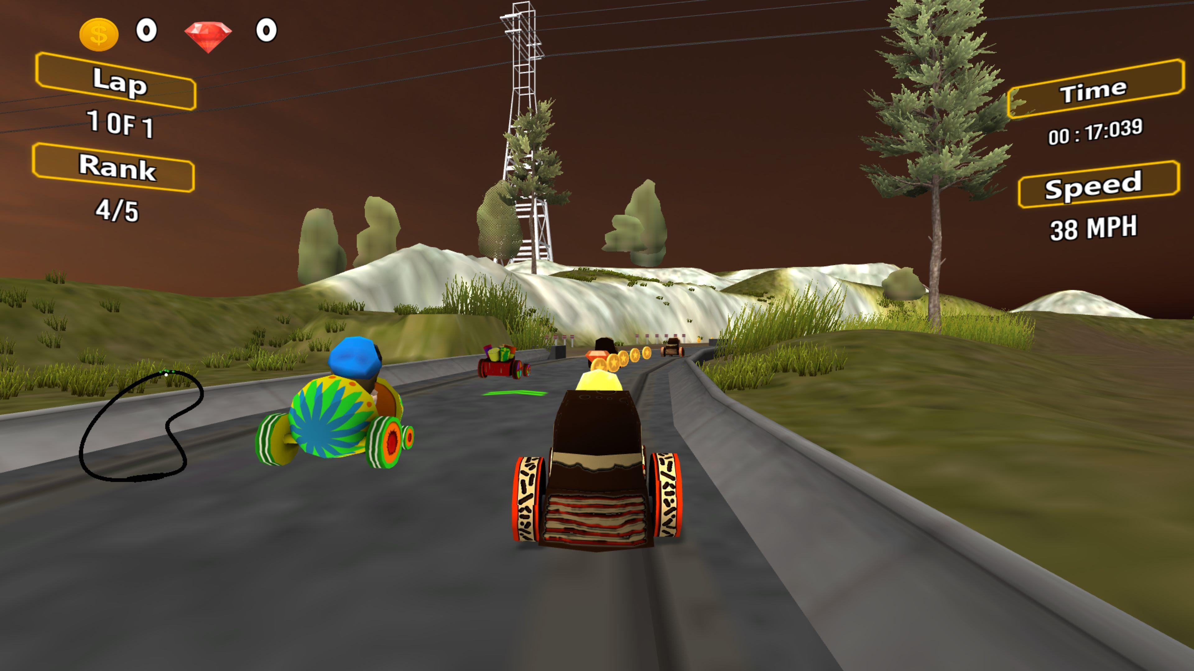 Скриншот №7 к Racing Game Pack