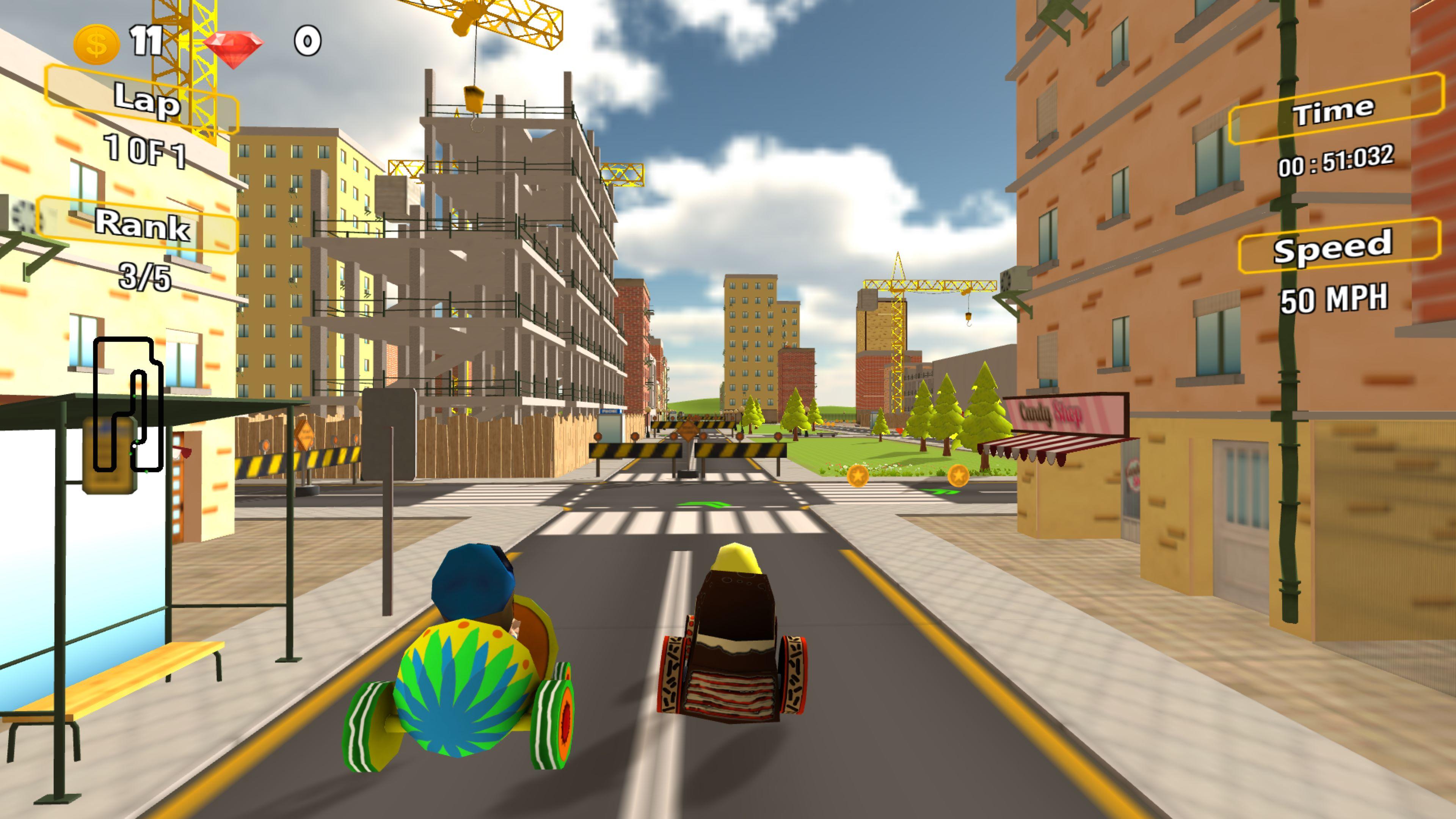 Скриншот №6 к Racing Game Pack