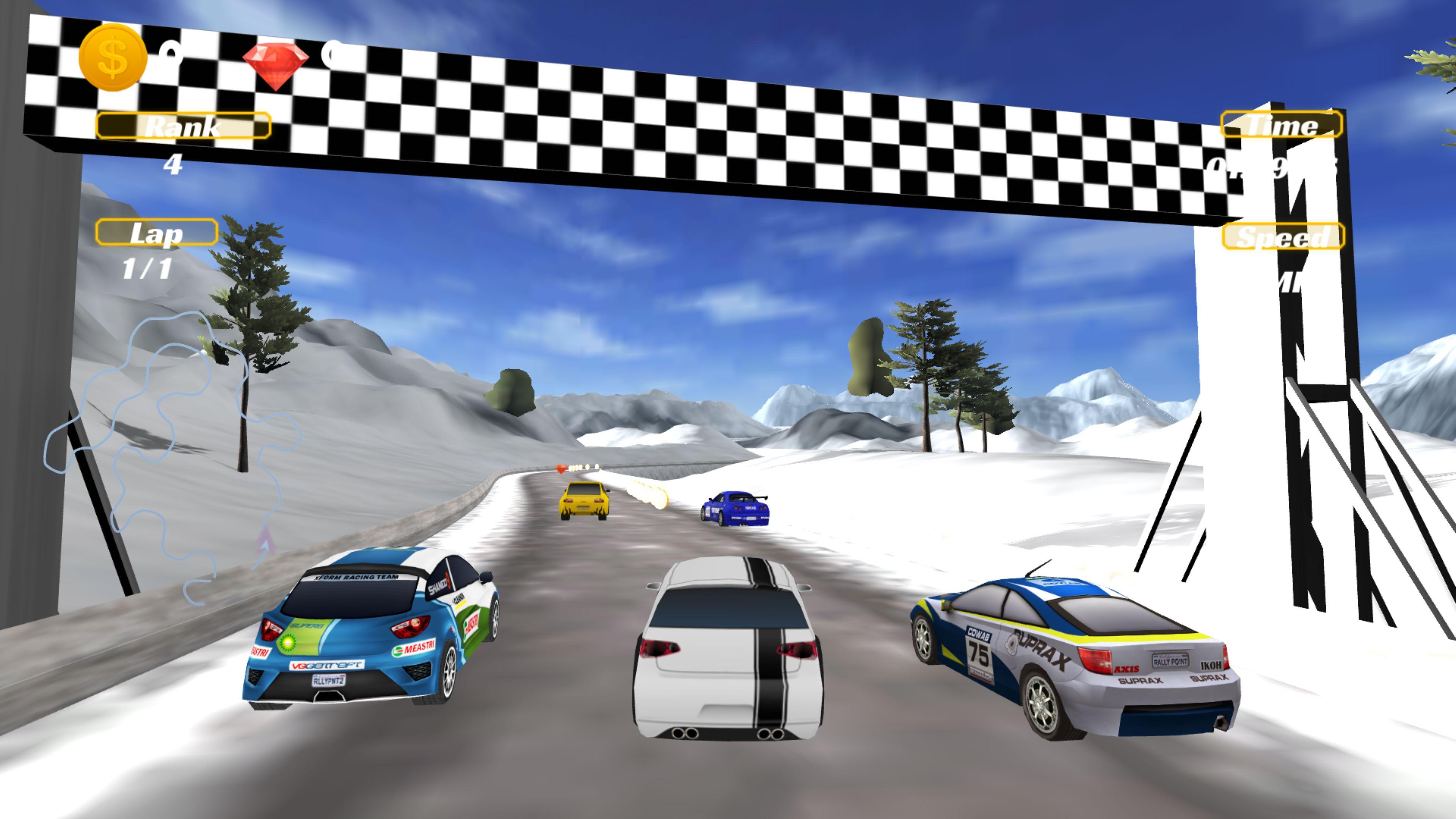 Скриншот №10 к Racing Game Pack