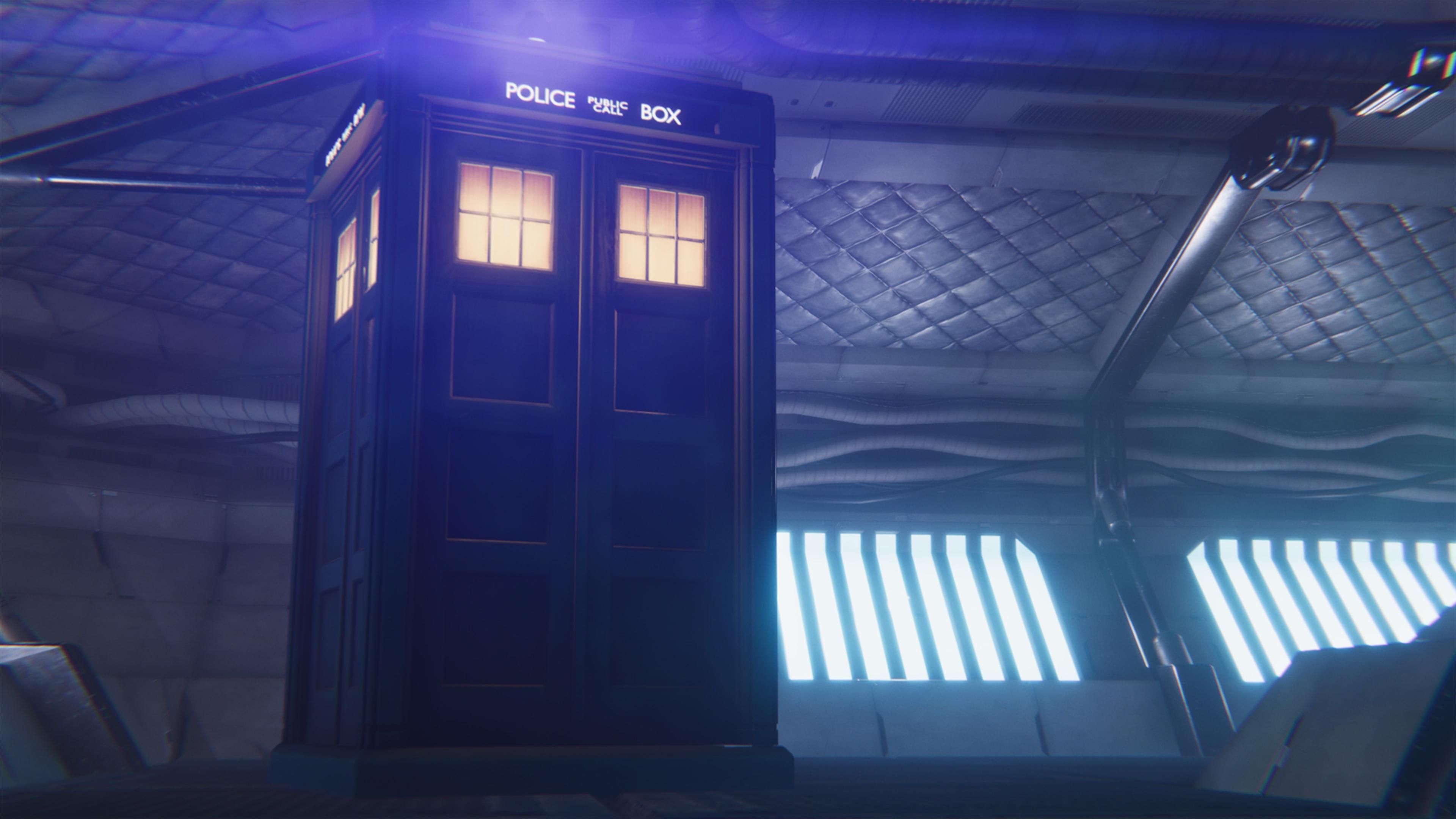 Скриншот №1 к Doctor Who The Edge of Reality