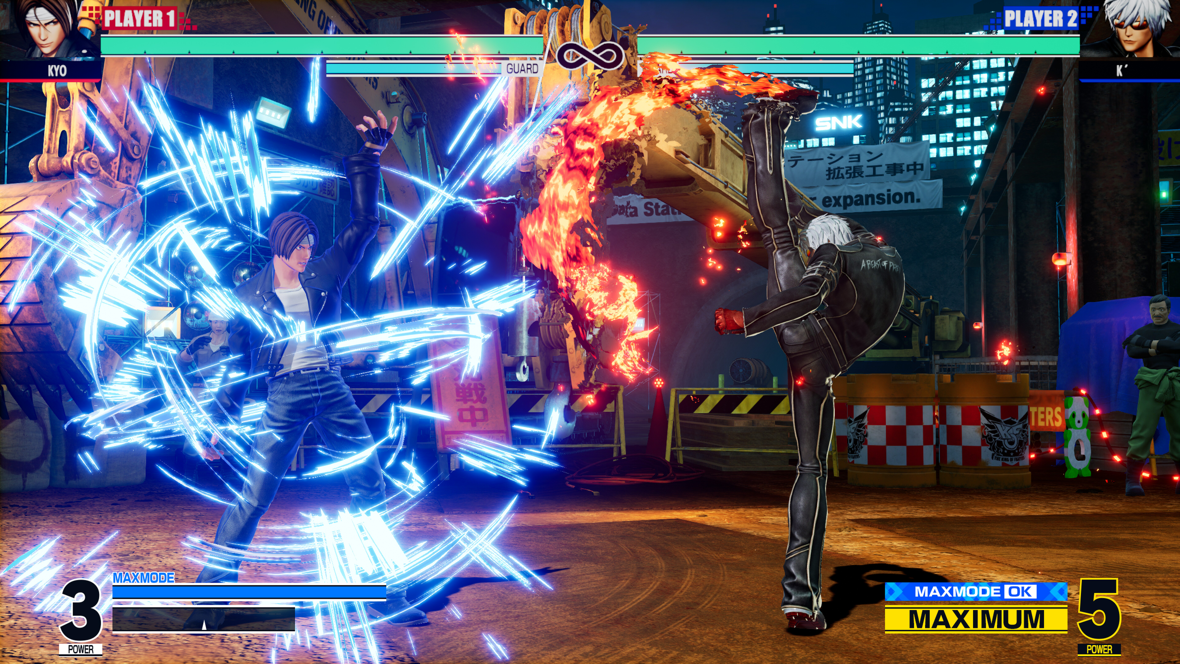 Скриншот №10 к THE KING OF FIGHTERS XV Standard Edition PS4 and PS5