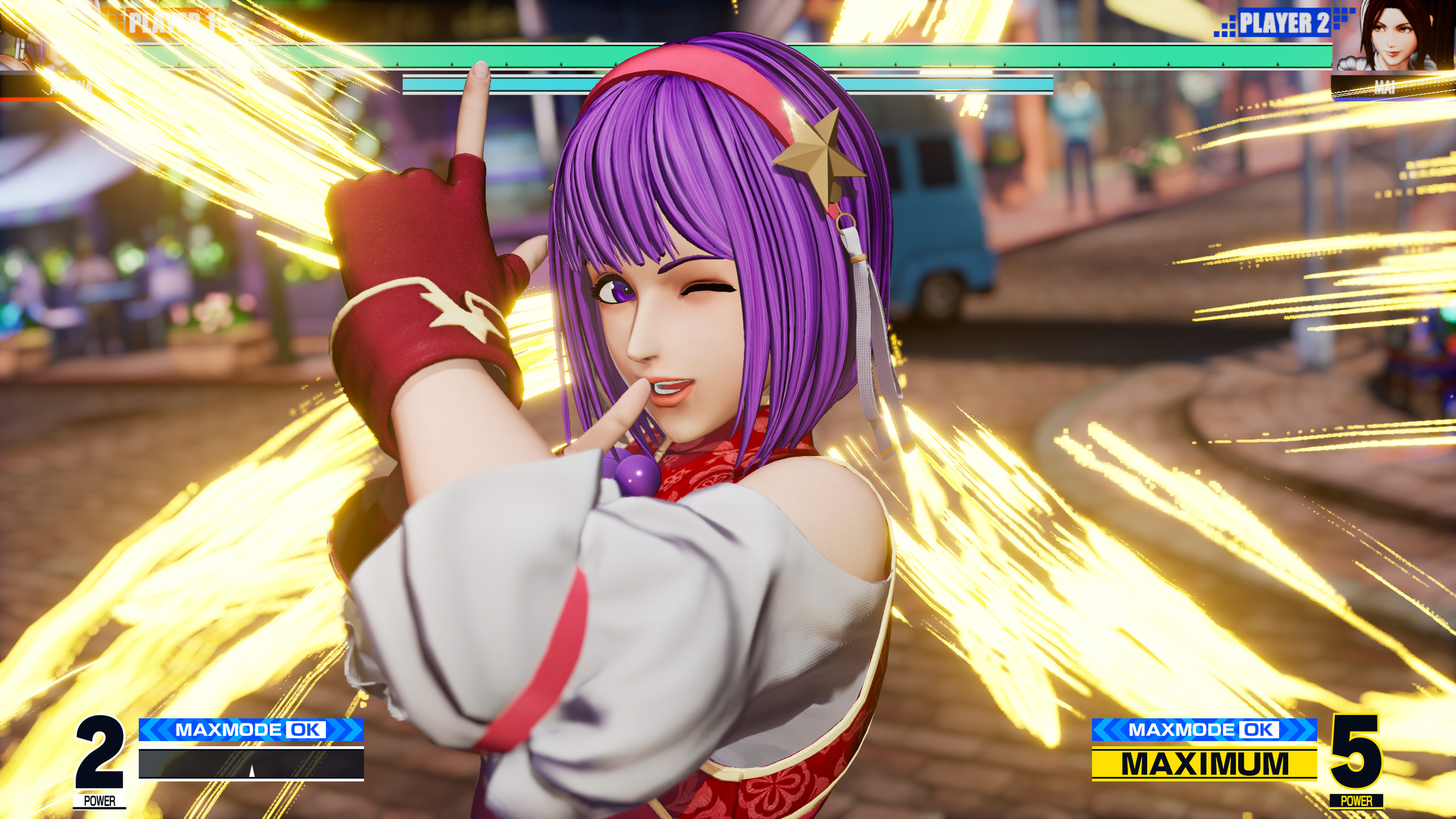 Скриншот №5 к THE KING OF FIGHTERS XV Standard Edition PS4 and PS5