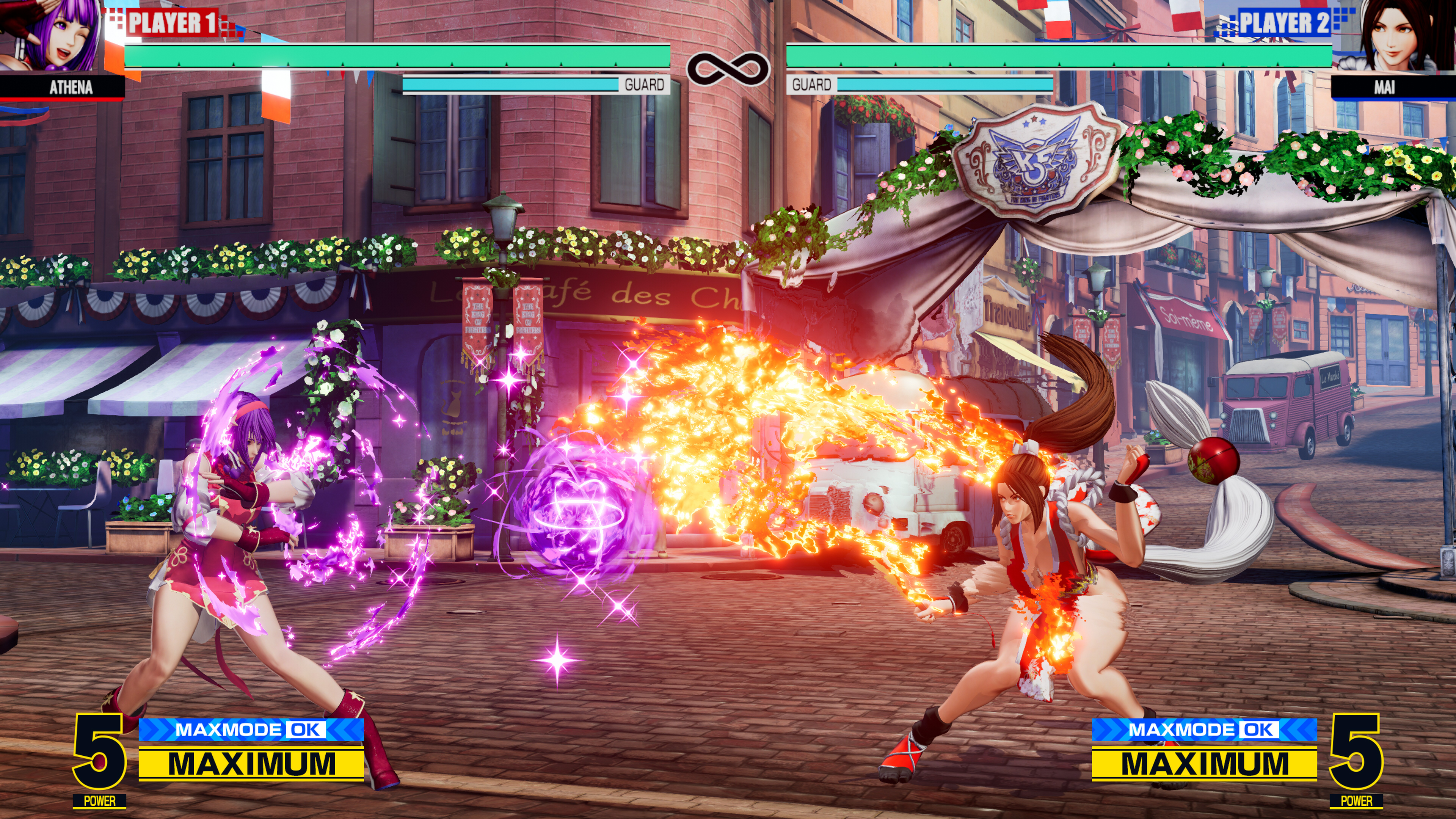 Скриншот №8 к THE KING OF FIGHTERS XV Standard Edition PS4 and PS5
