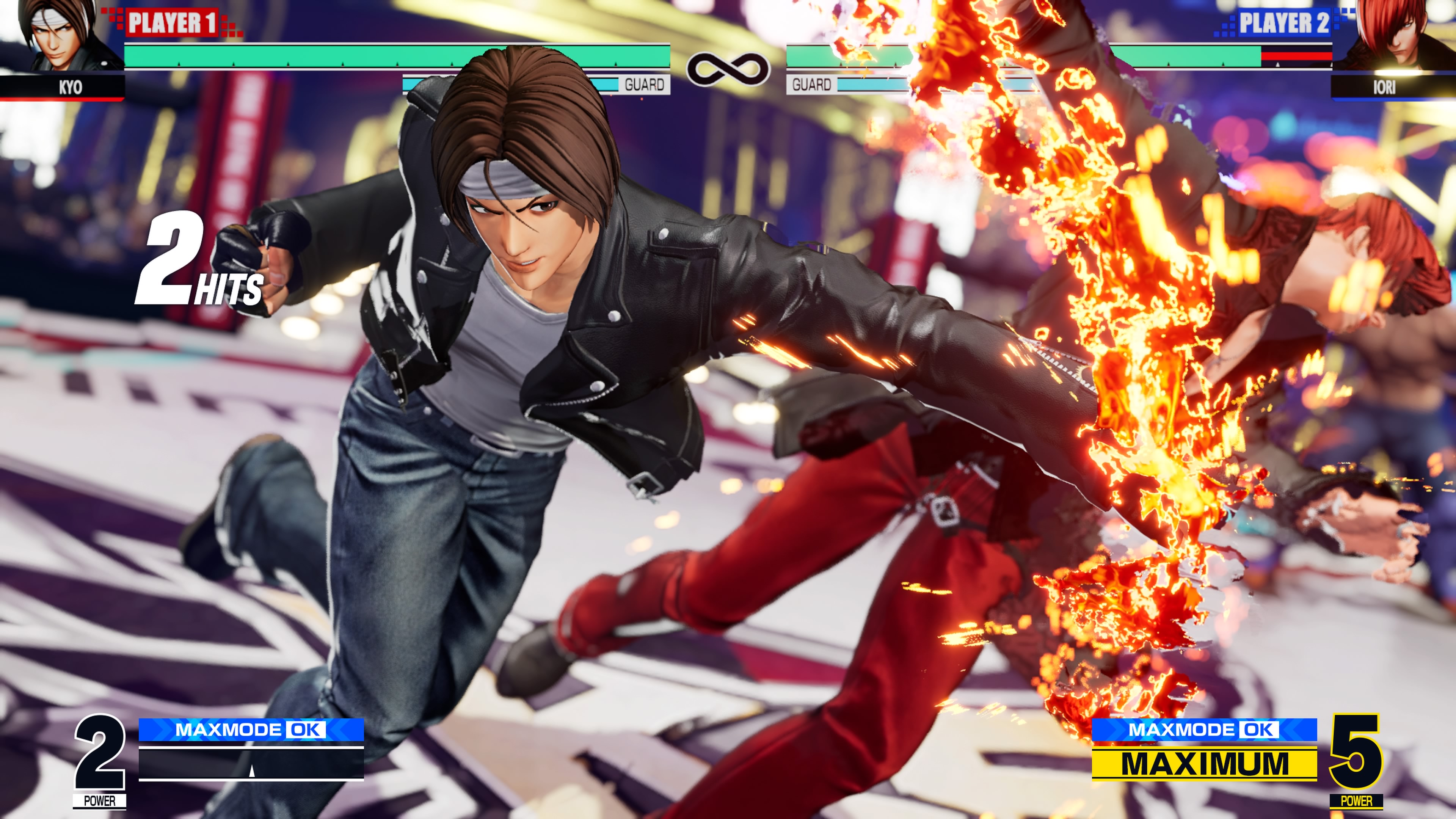 Скриншот №1 к THE KING OF FIGHTERS XV Standard Edition PS4 and PS5