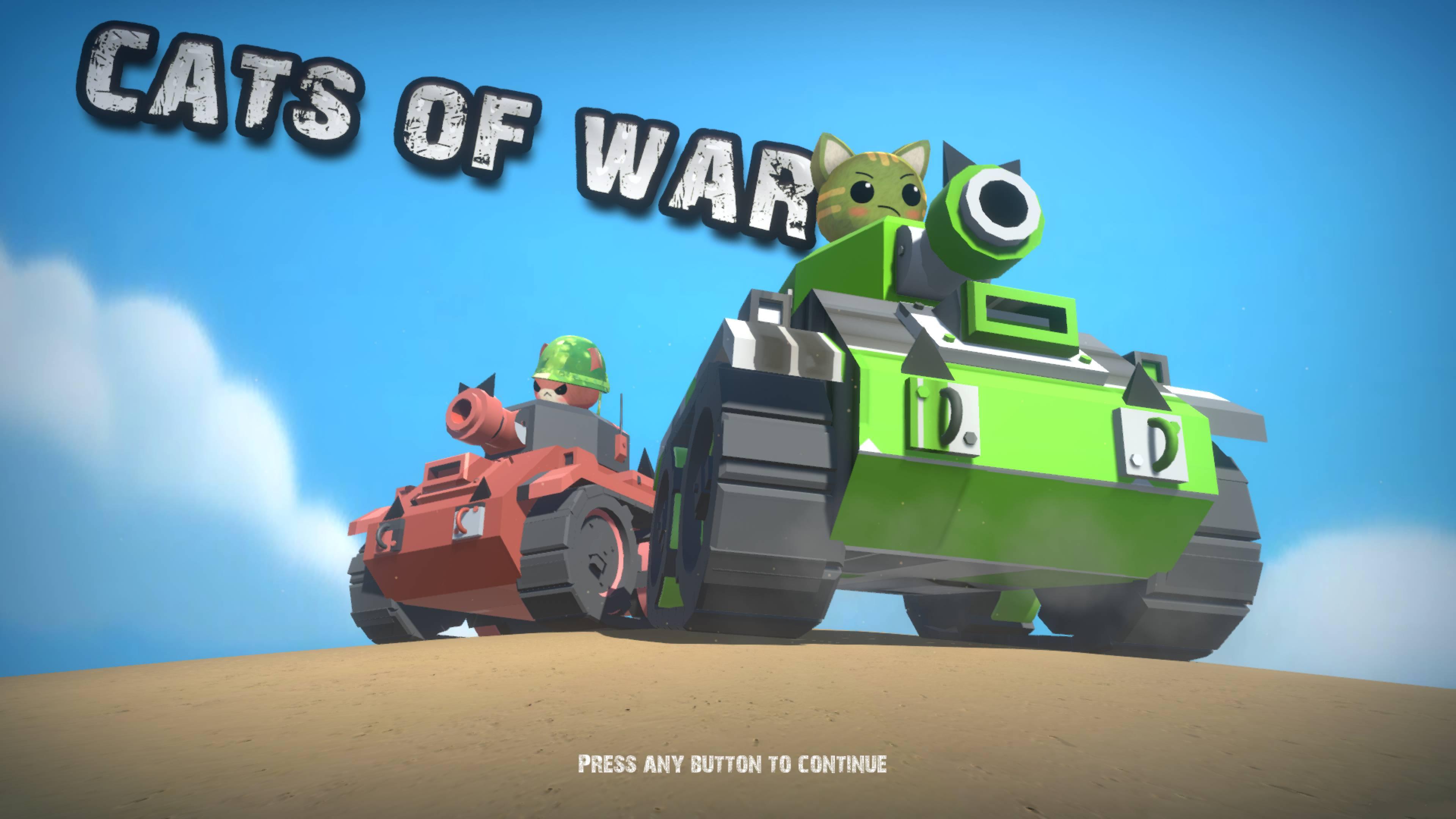 Скриншот №1 к CATS OF WAR