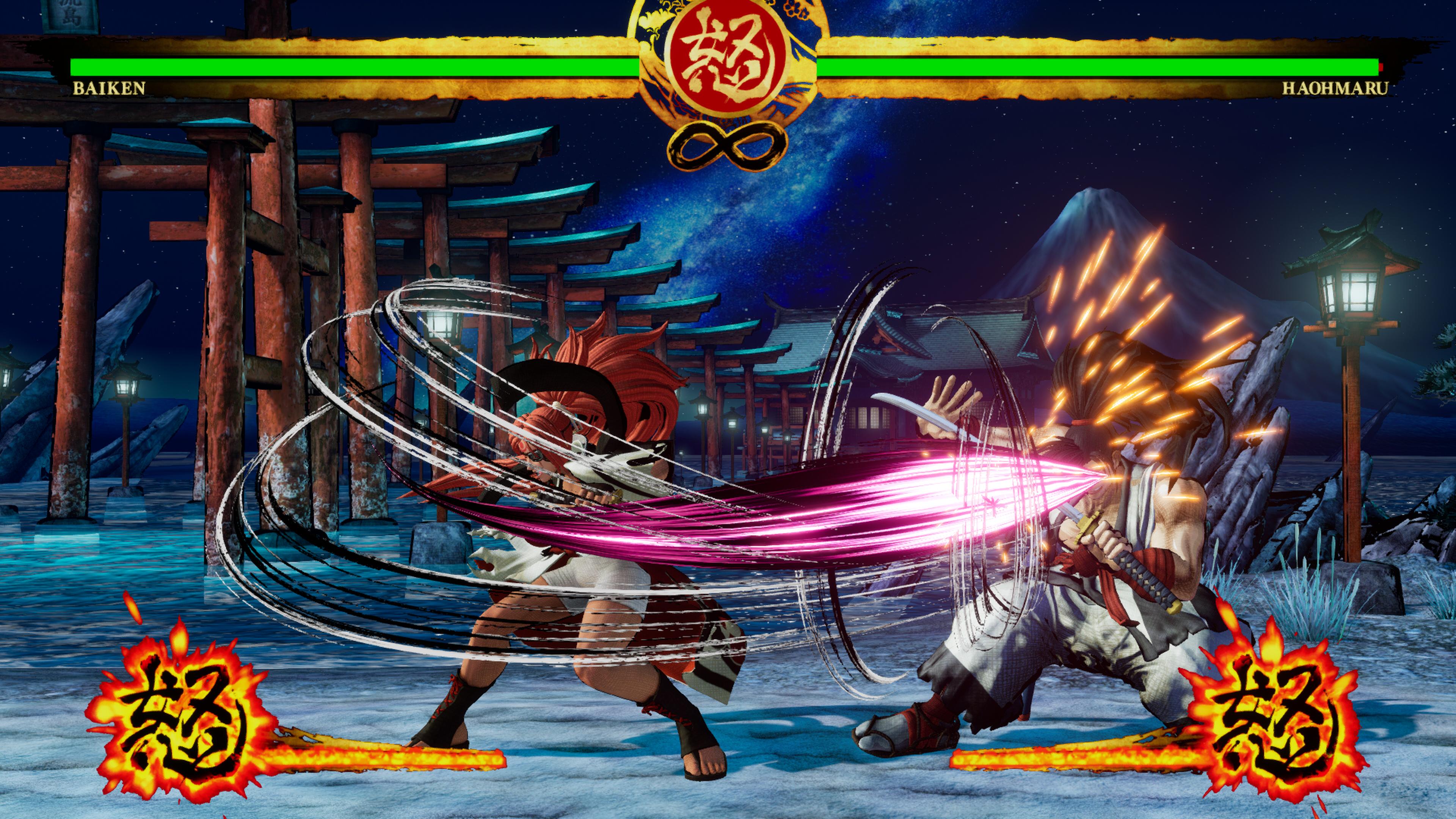 Скриншот №6 к SAMURAI SHODOWN DLC С ПЕРСОНАЖЕМ «BAIKEN»