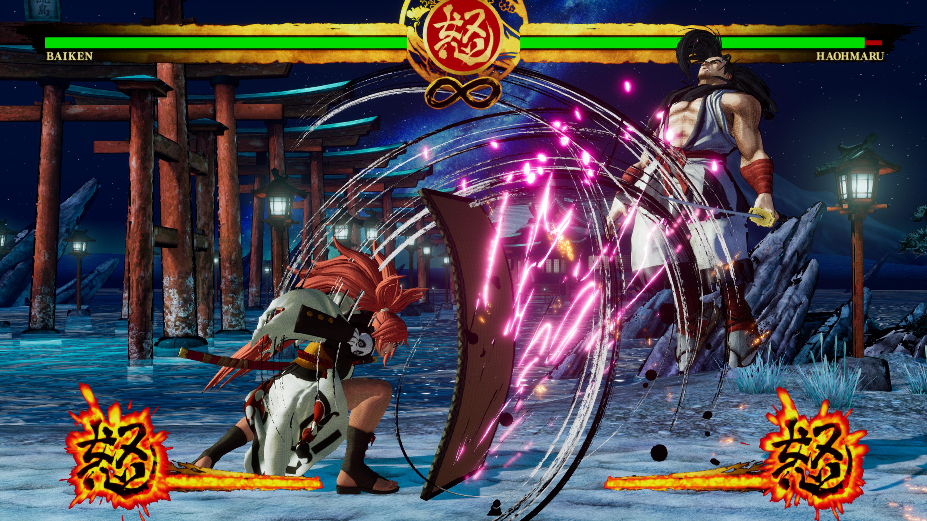 Скриншот №4 к SAMURAI SHODOWN DLC С ПЕРСОНАЖЕМ «BAIKEN»
