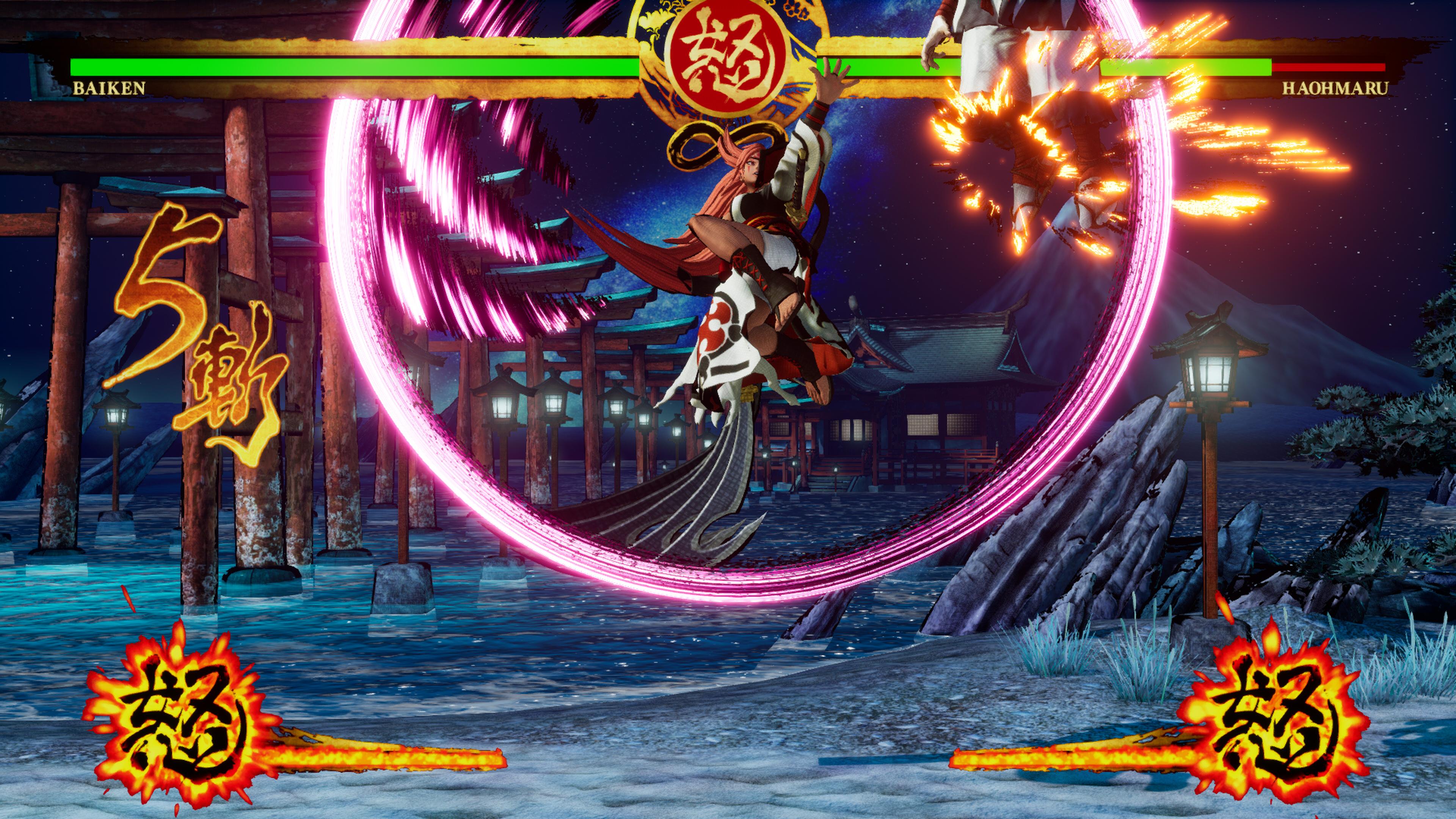 Скриншот №5 к SAMURAI SHODOWN DLC С ПЕРСОНАЖЕМ «BAIKEN»