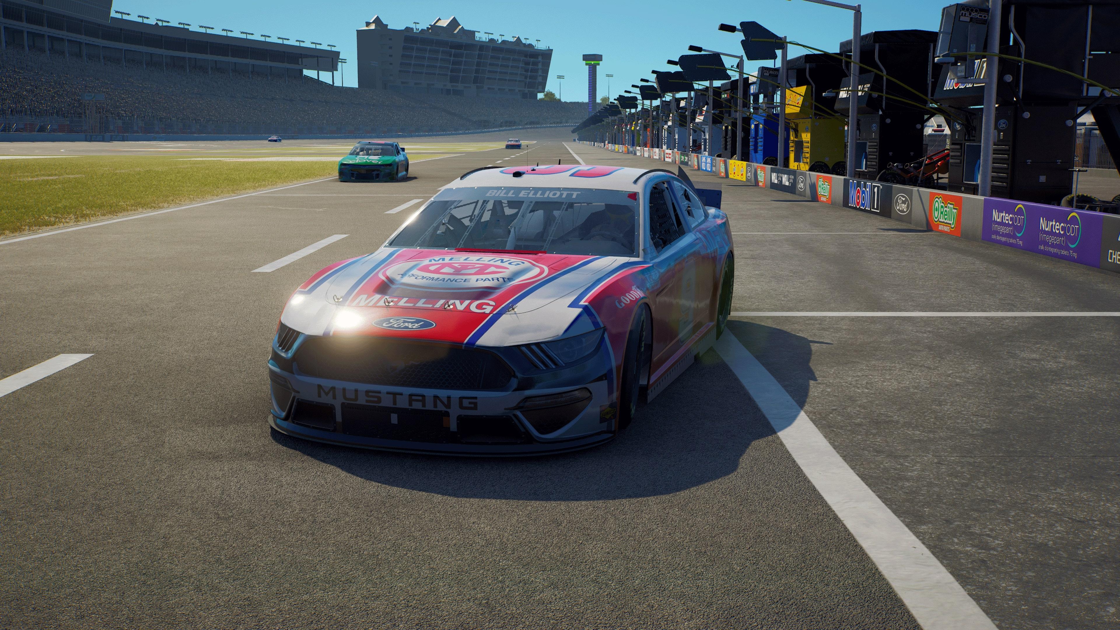 Скриншот №1 к NASCAR 21 Ignition - Champions Edition