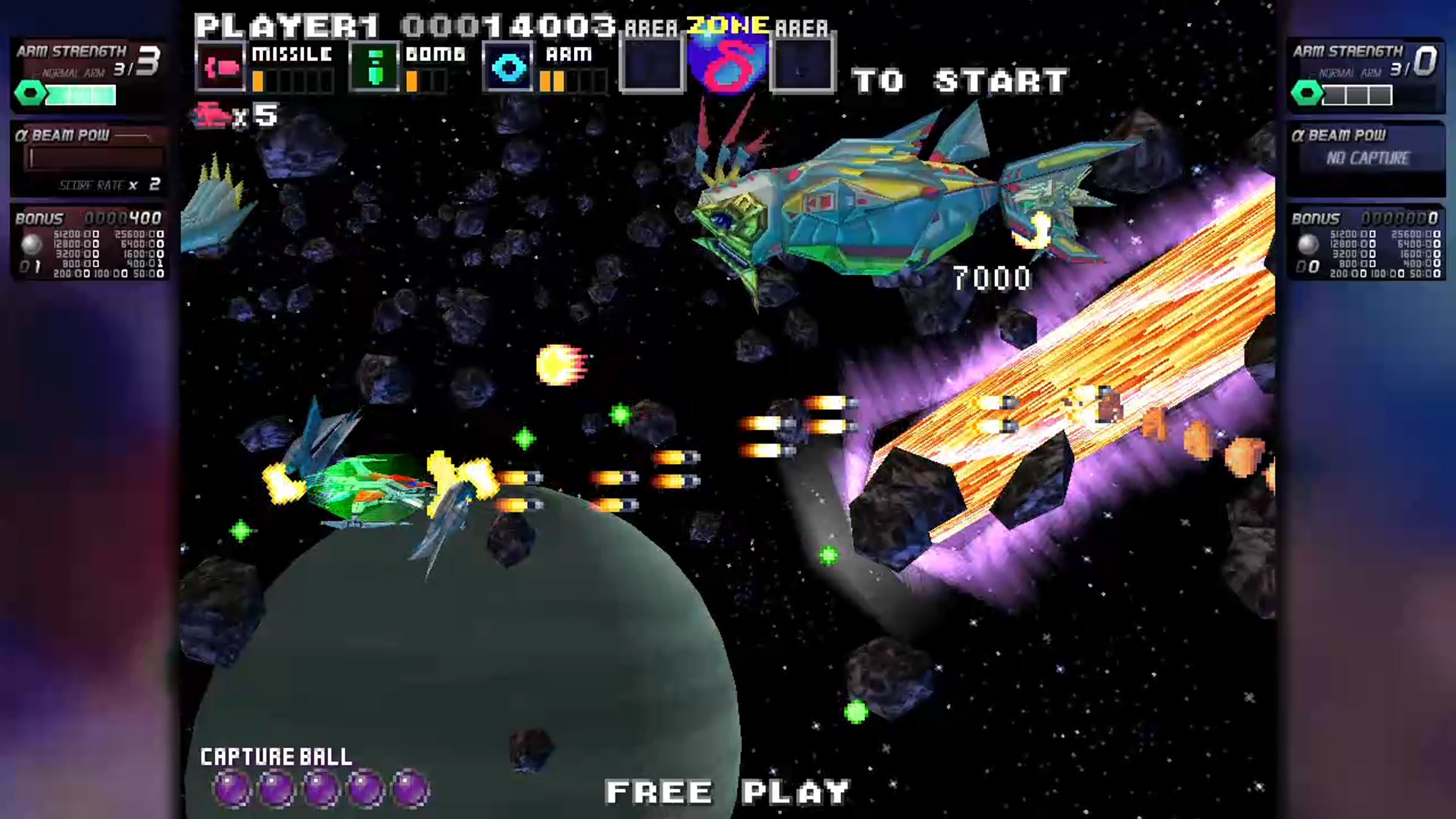 Скриншот №6 к G-Darius HD