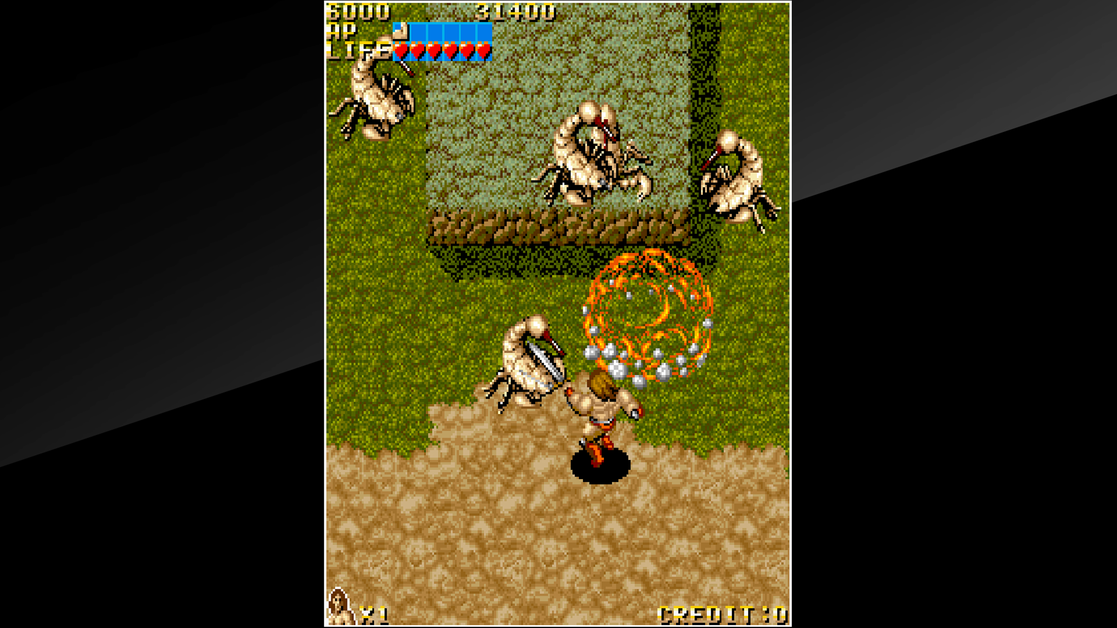 Скриншот №1 к Arcade Archives VANDYKE