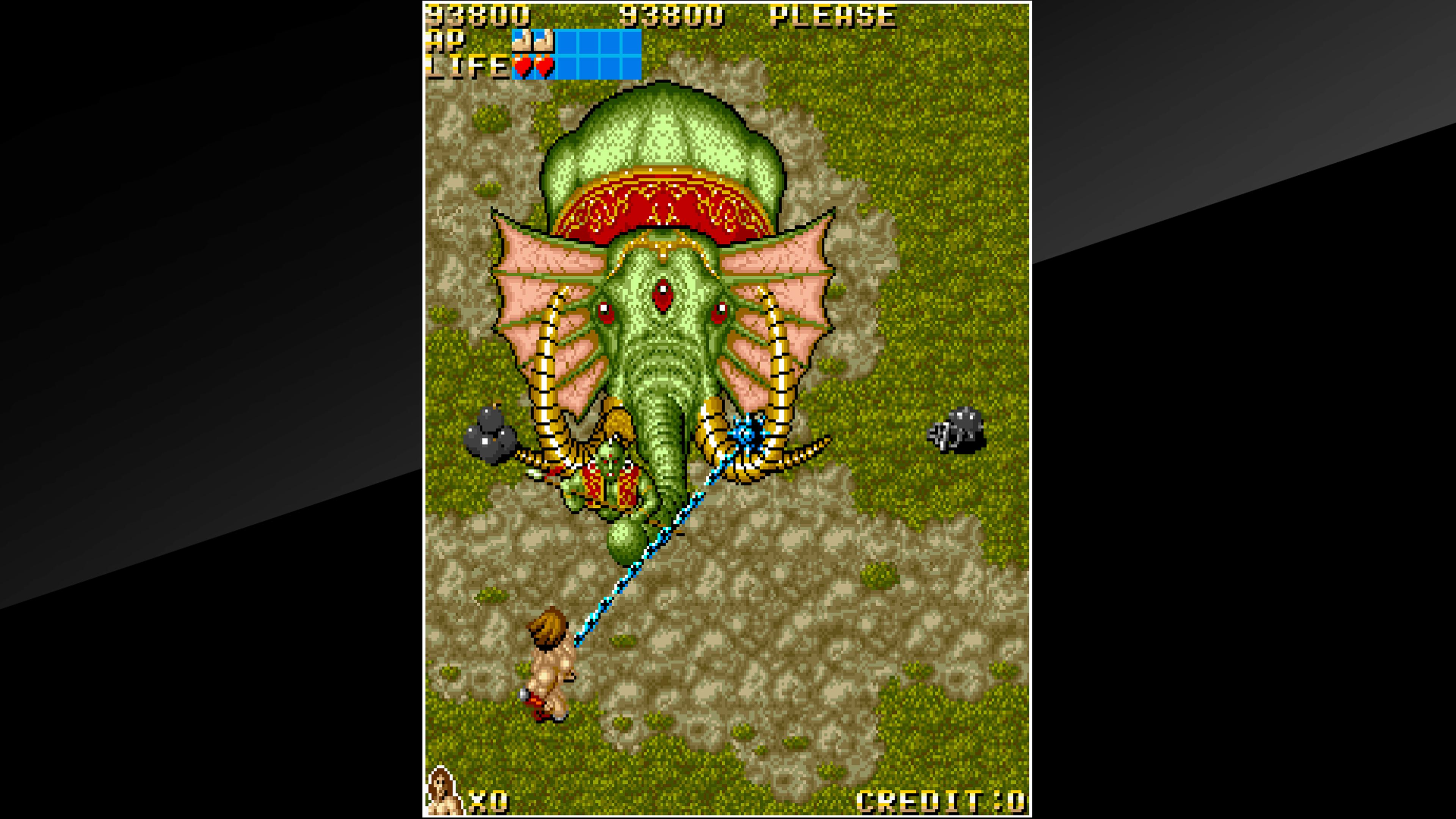 Скриншот №2 к Arcade Archives VANDYKE
