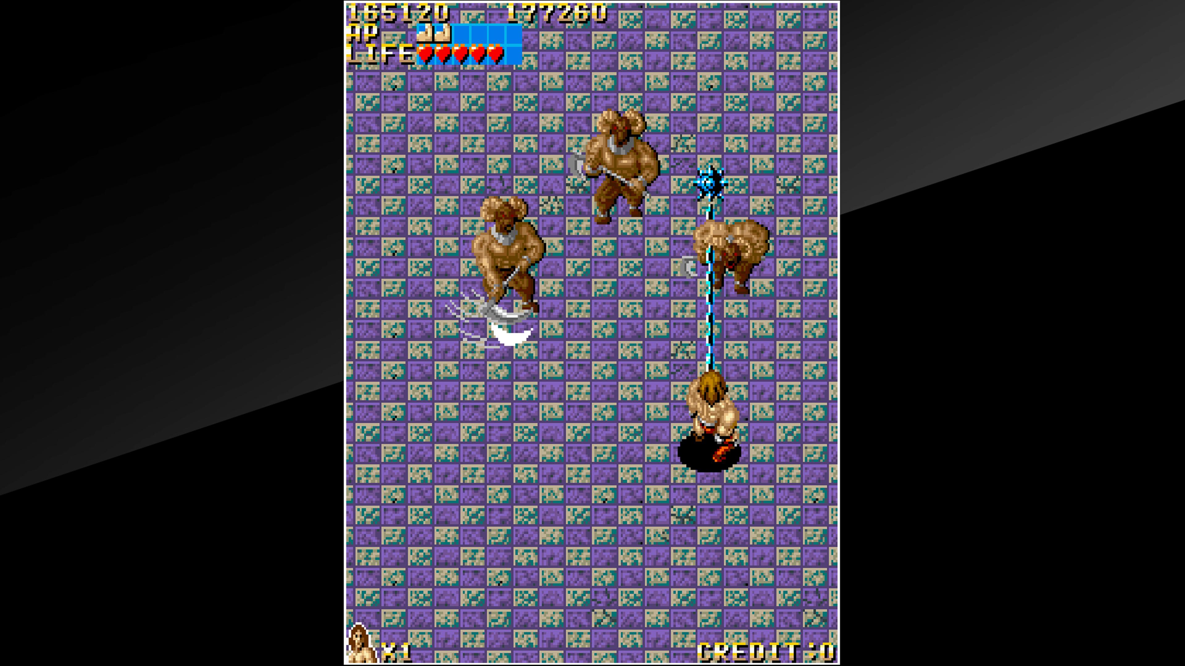 Скриншот №4 к Arcade Archives VANDYKE