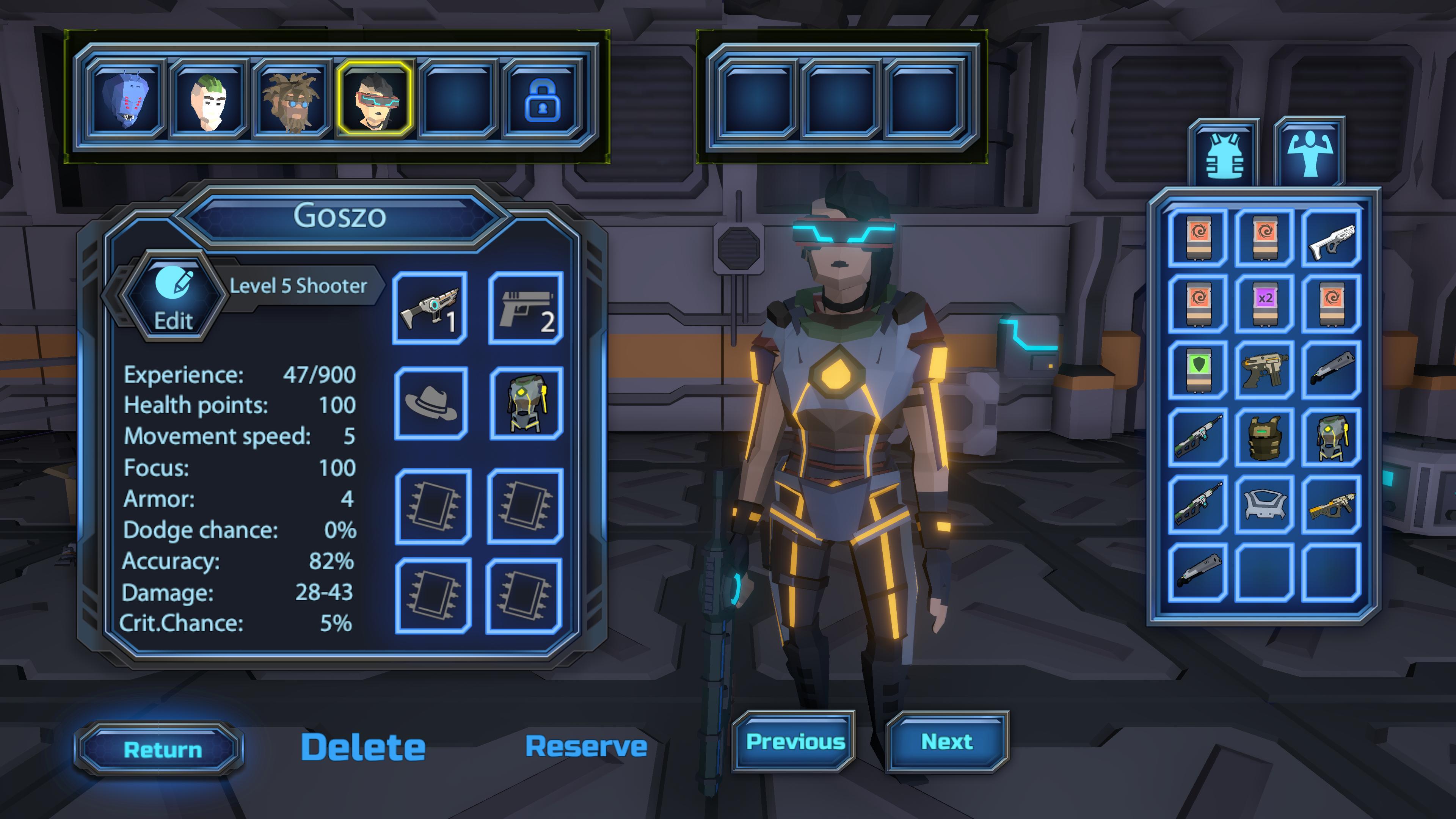 Скриншот №9 к Galaxy Squad