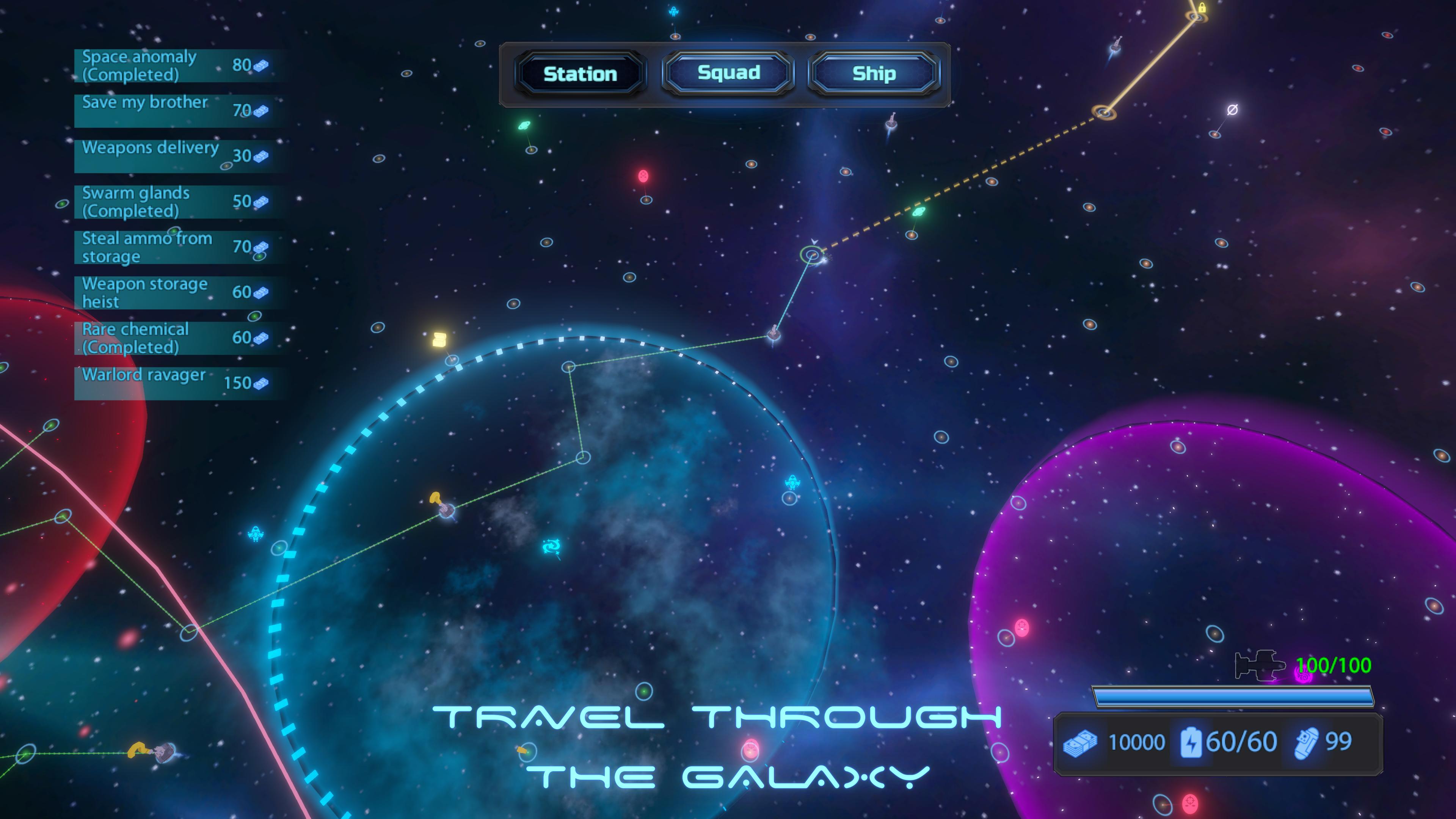 Скриншот №2 к Galaxy Squad