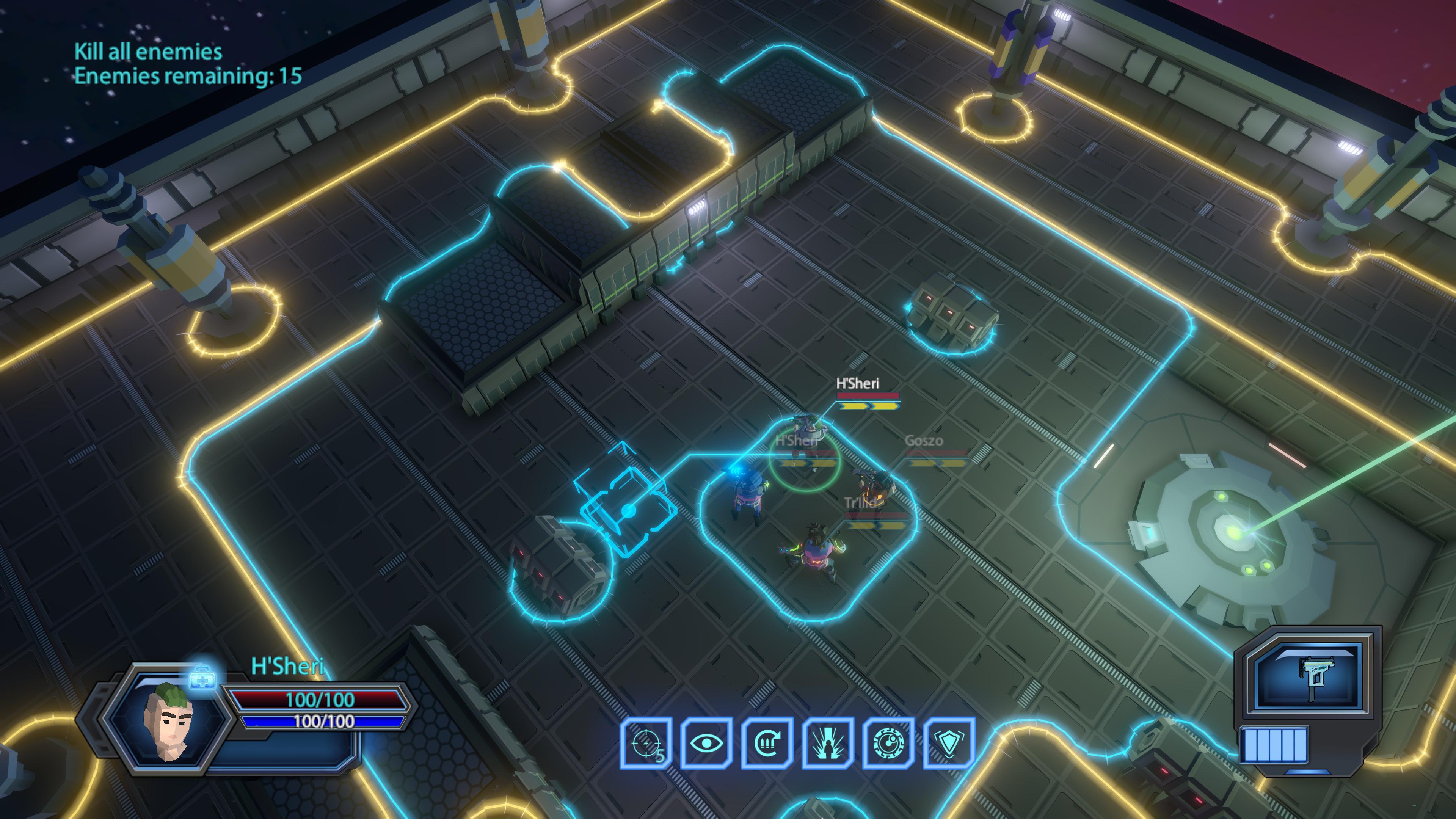 Скриншот №4 к Galaxy Squad