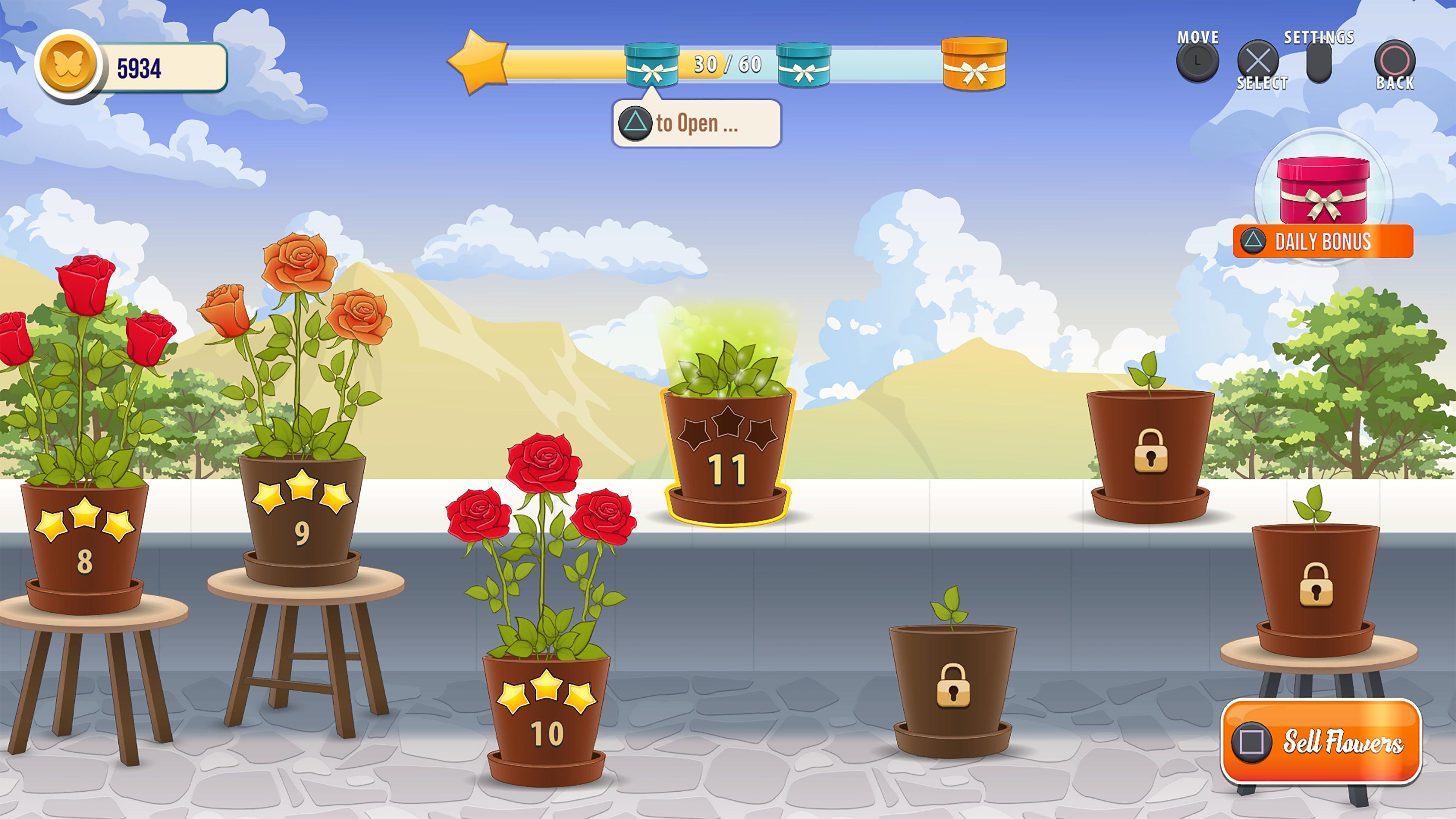 Скриншот №5 к Solitaire Tripeaks Flowers