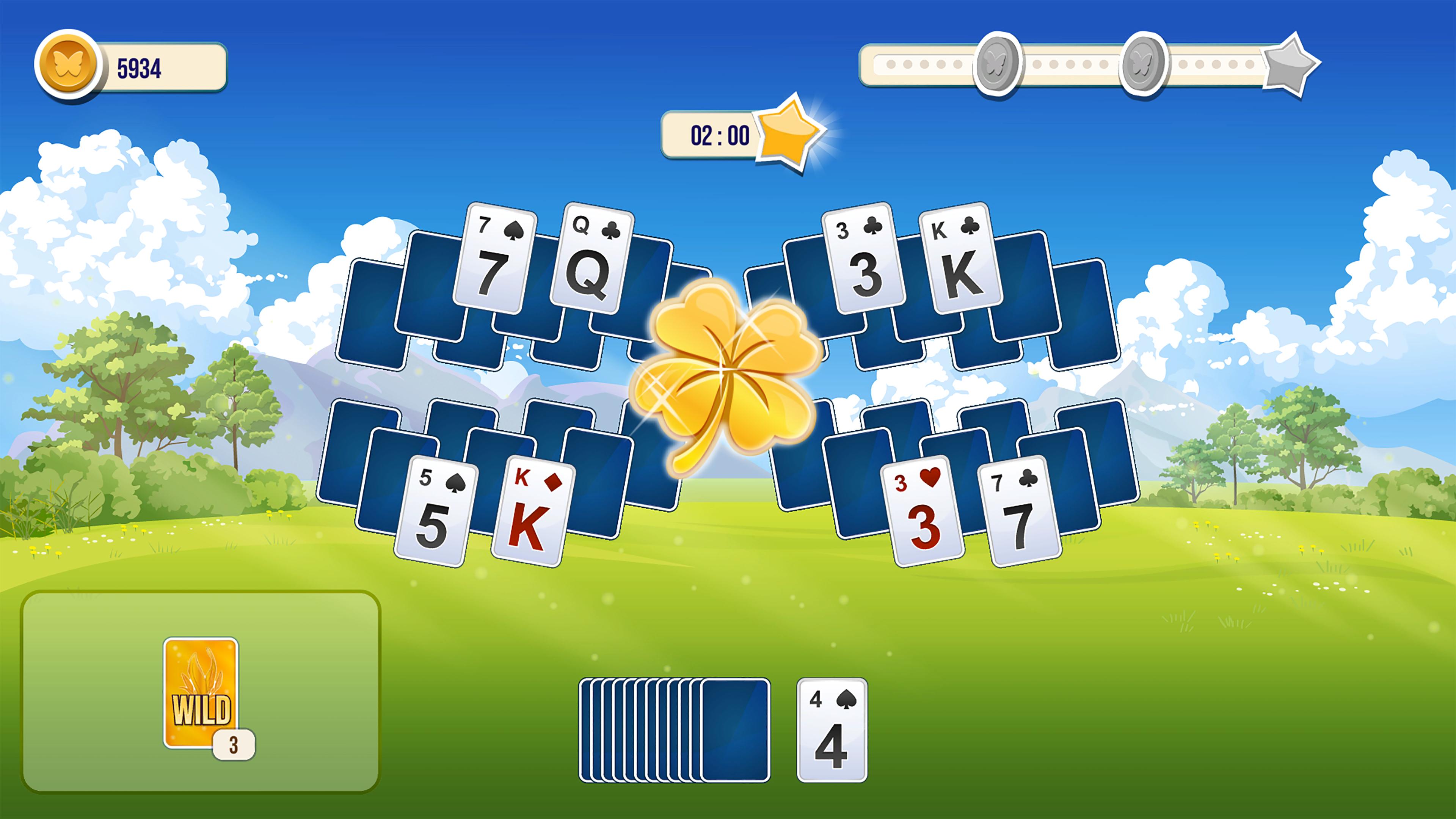 Скриншот №2 к Solitaire Tripeaks Flowers