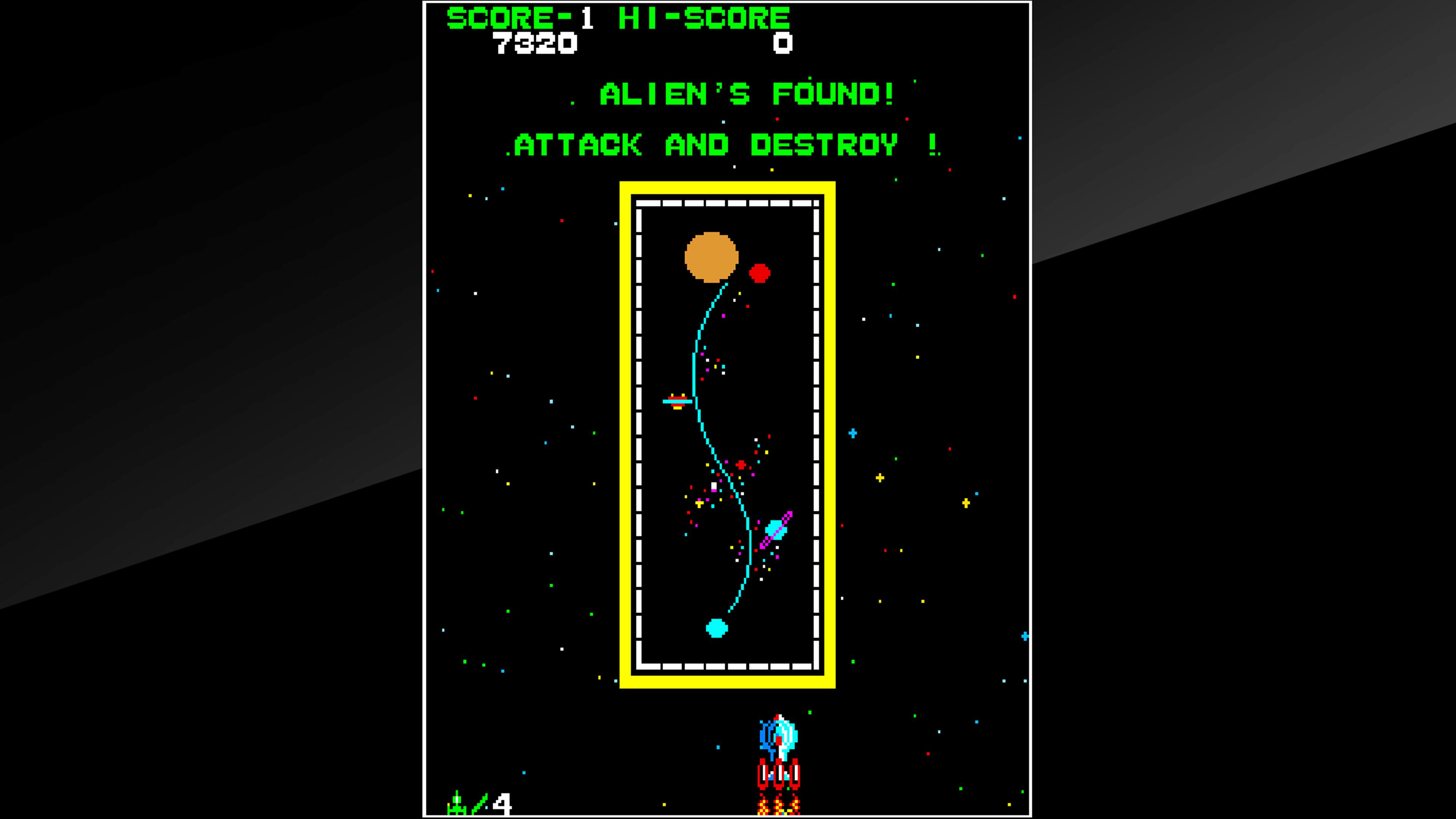 Скриншот №6 к Arcade Archives SPACE CRUISER