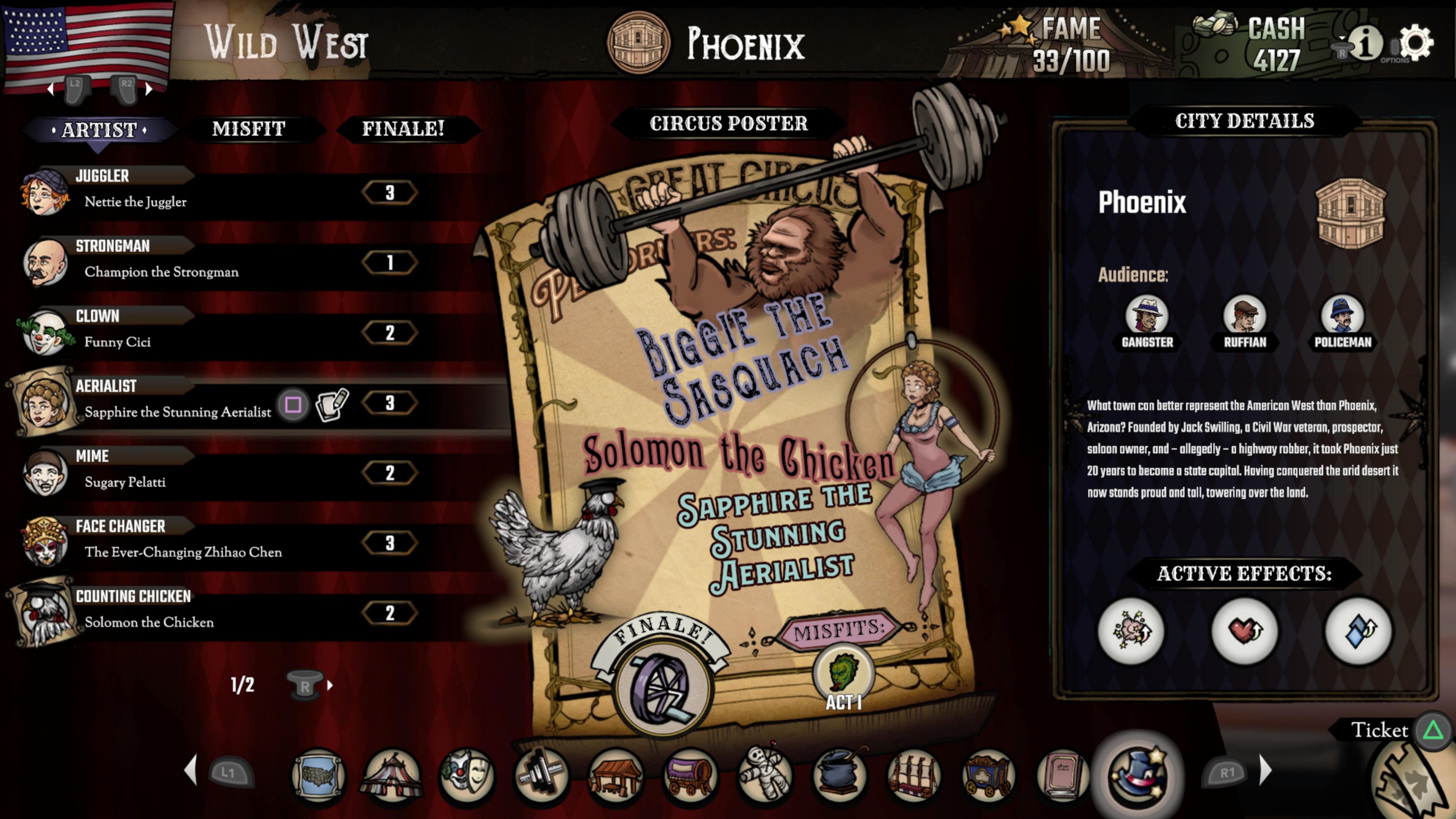 Скриншот №5 к The Amazing American Circus