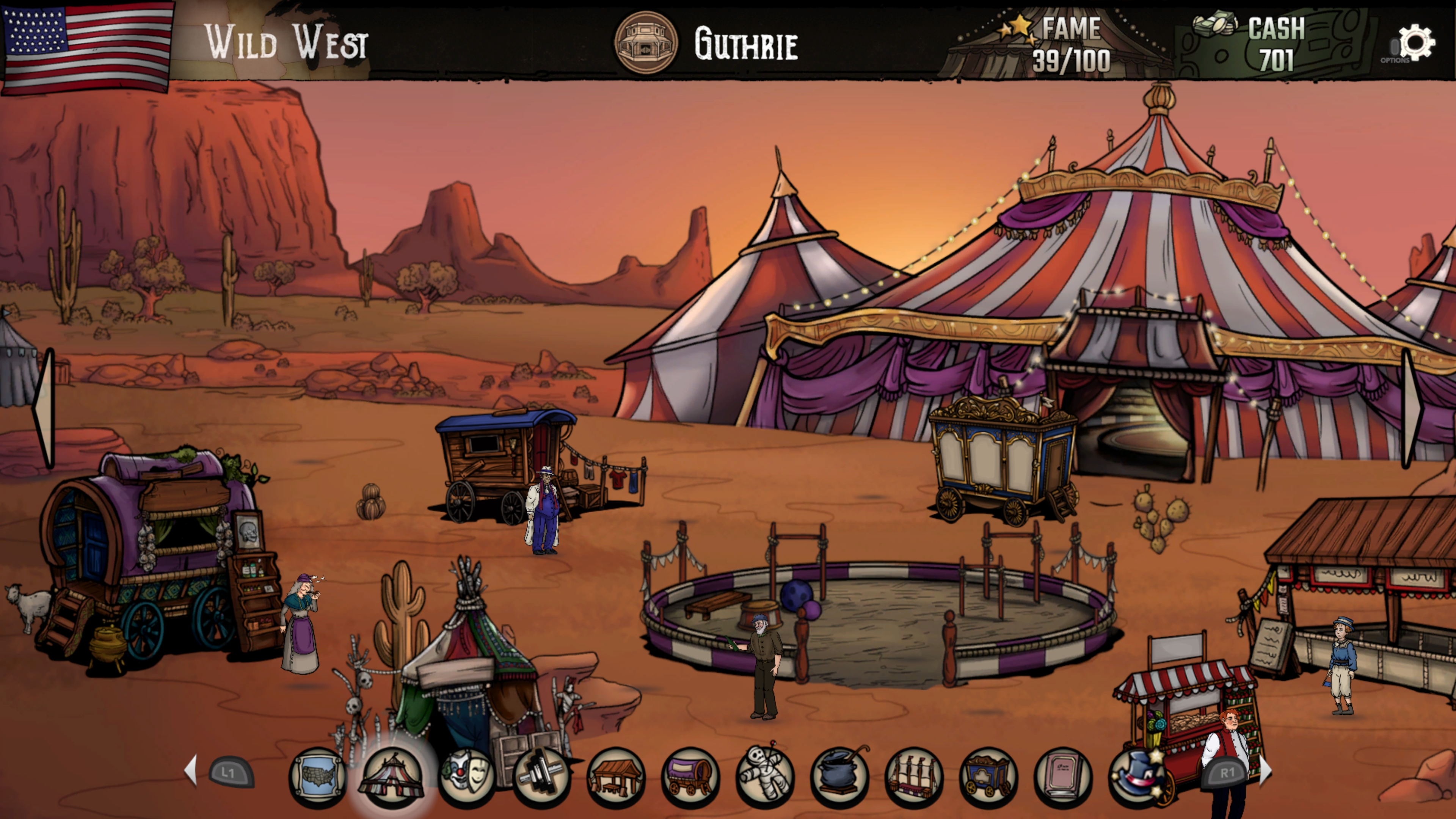 Скриншот №6 к The Amazing American Circus