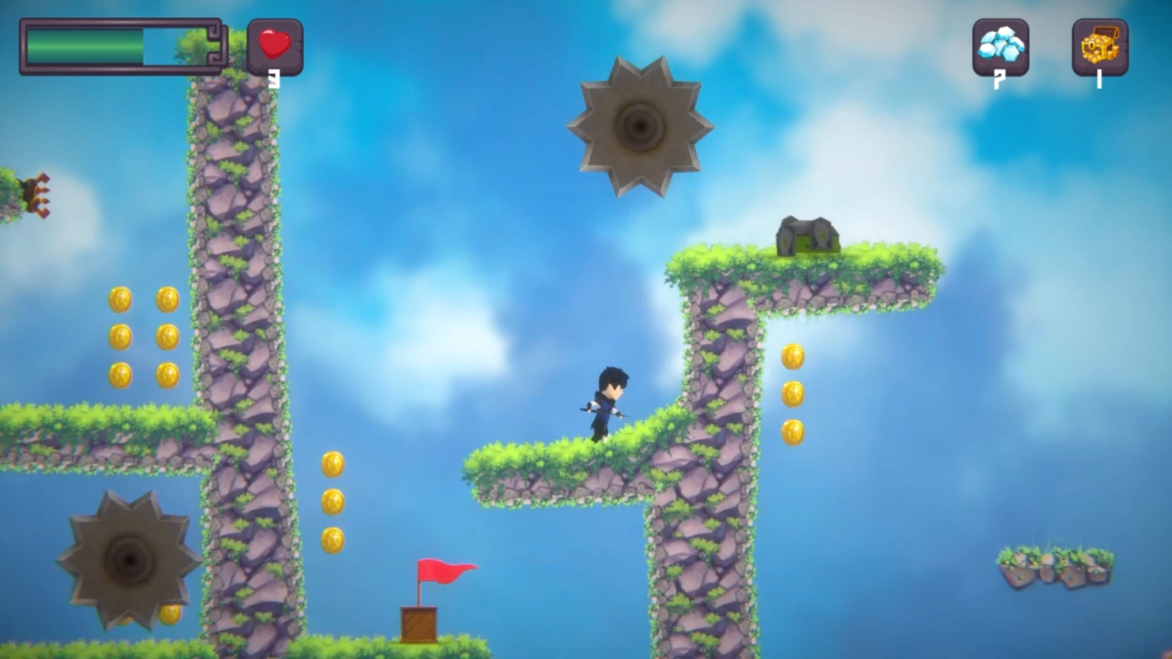 Скриншот №6 к Platformer Game Pack