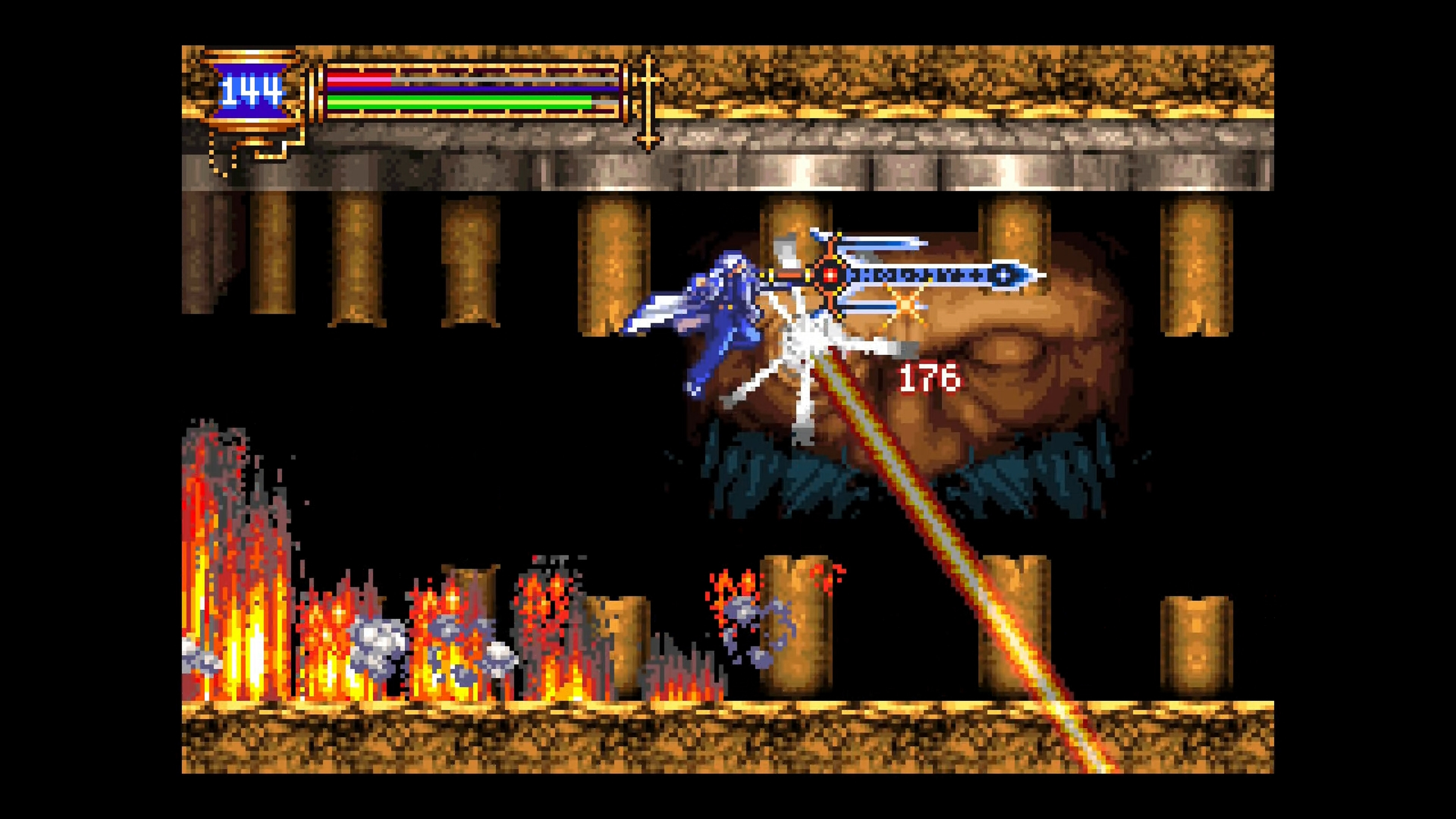Скриншот №8 к Castlevania Advance Collection