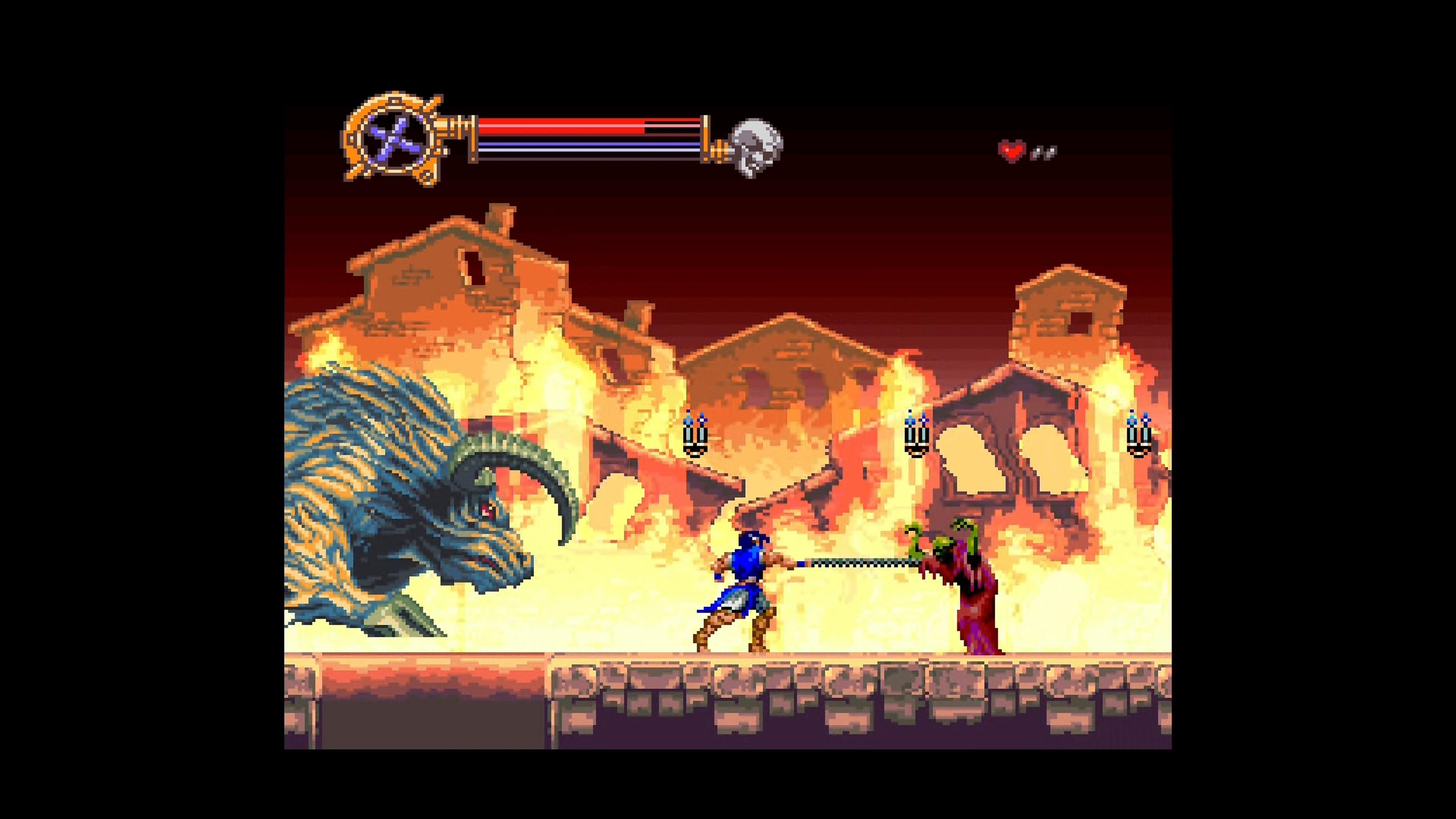 Скриншот №6 к Castlevania Advance Collection
