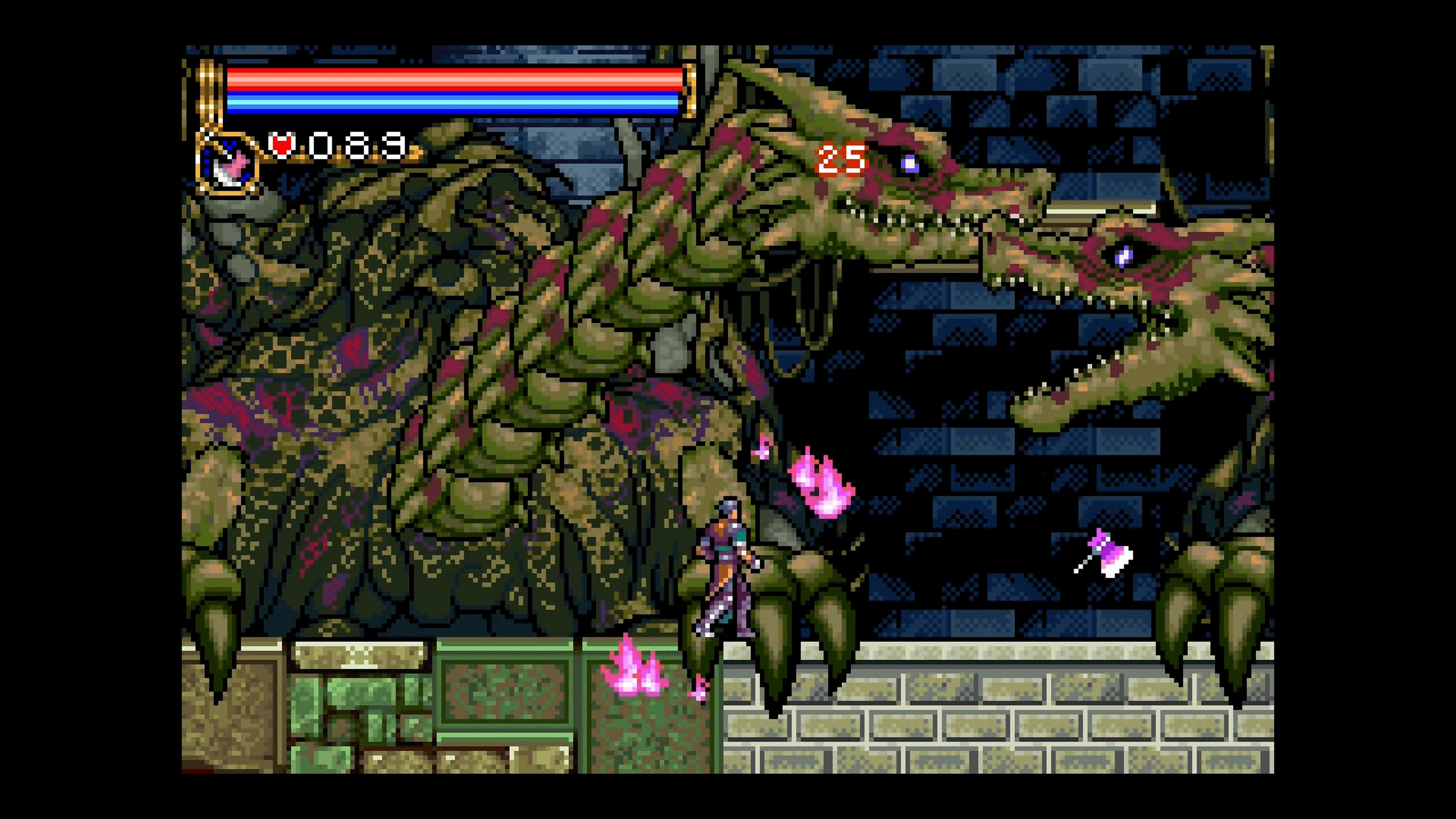 Скриншот №1 к Castlevania Advance Collection
